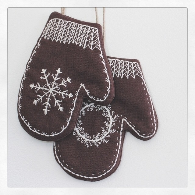Cozy Mittens Wall decoration fe - cozymemories | ello