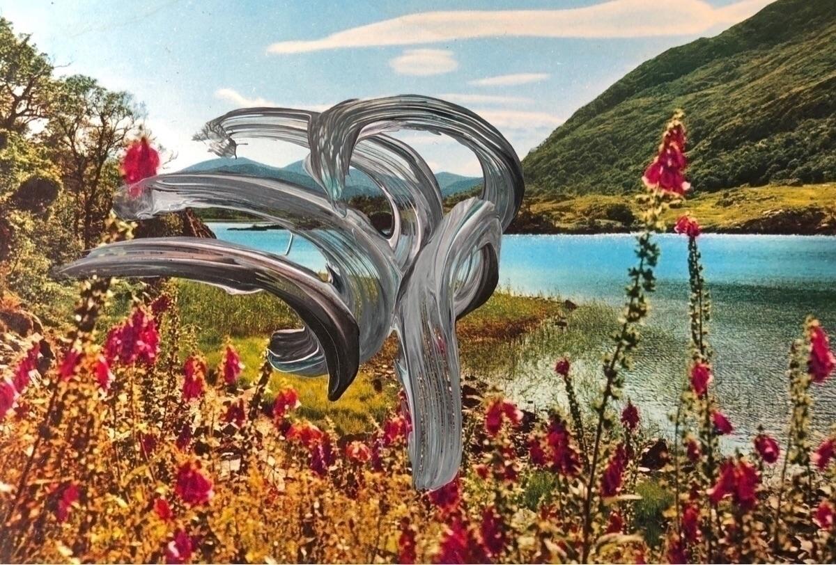 """postcards"", inspired gerhard r - benjifriedman | ello"