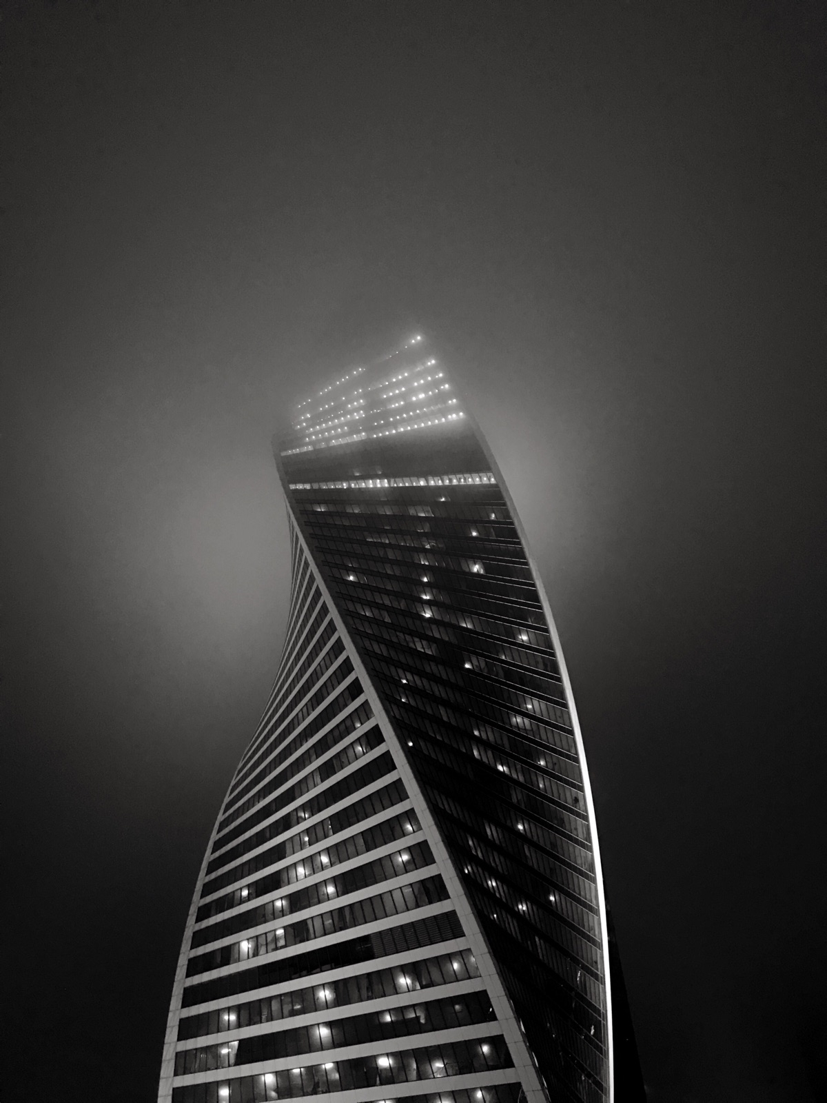 Moscow - architecture, moscow, skyscraper - nicksushkevich | ello