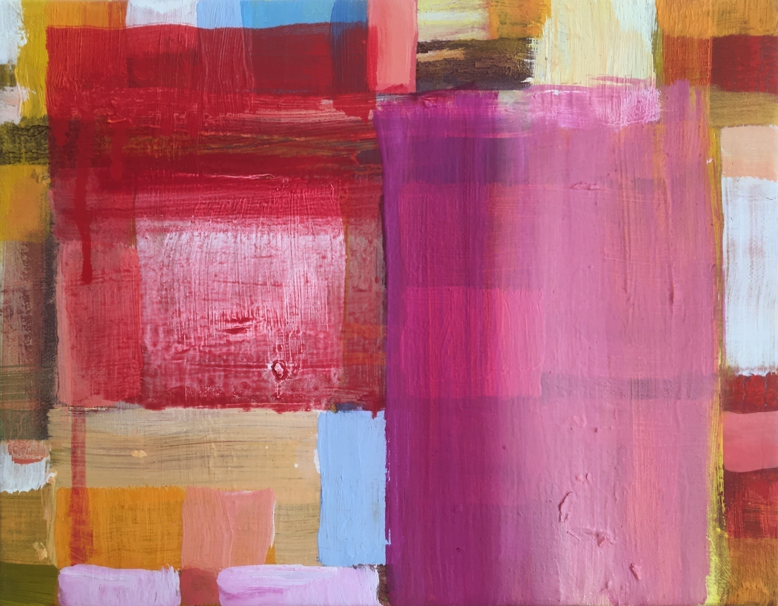 Small colourful oil painting 24 - geertjadoul | ello