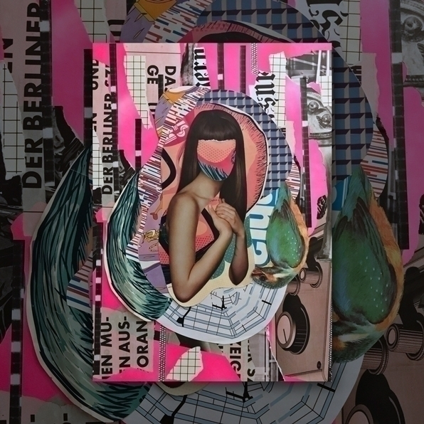 Collages canvas, 2017. collage  - deshalbpunkt | ello