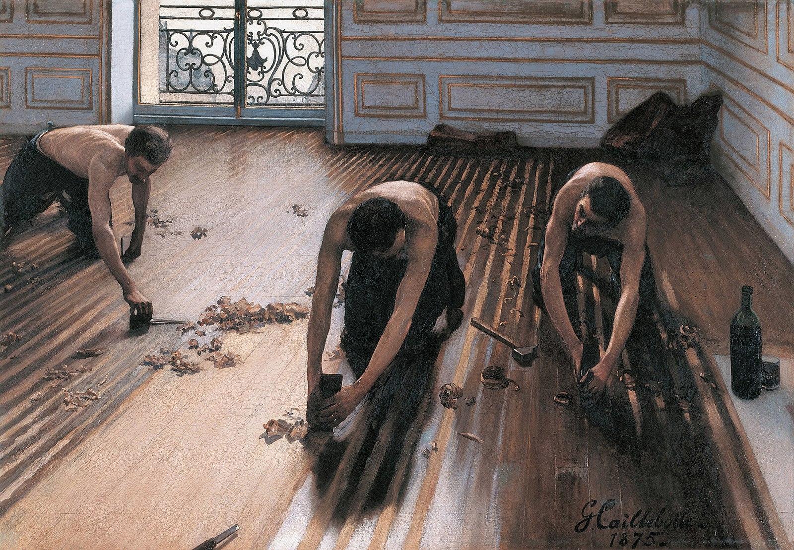 Gustave Caillebotte: Floor Scra - arthurboehm | ello