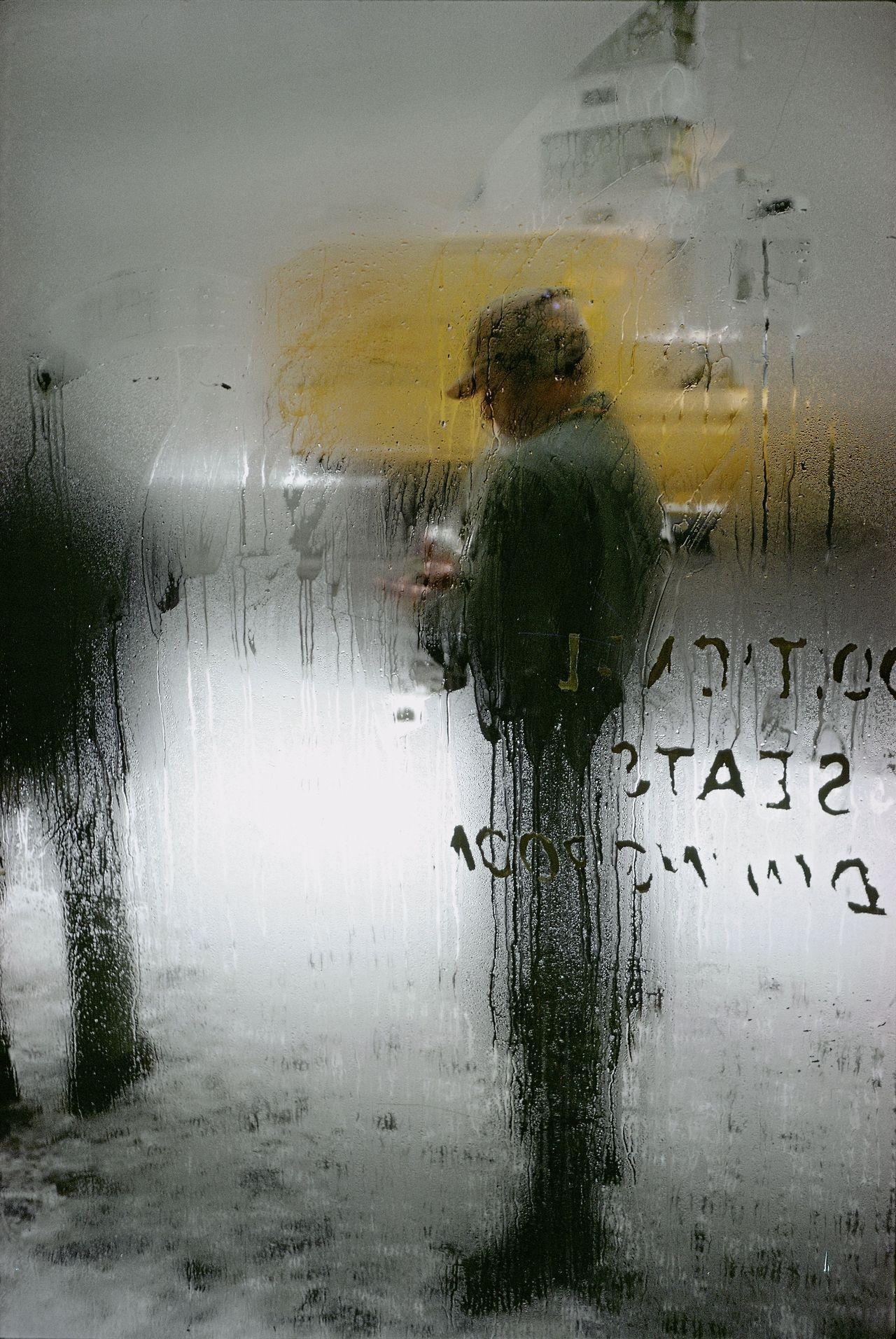 Saul Leiter: Snow, 1960 - arthurboehm   ello