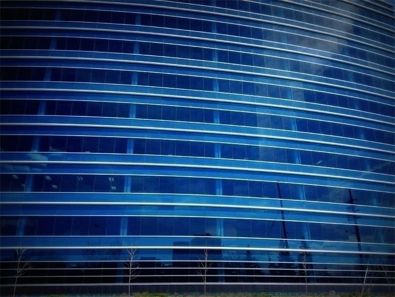 Curtain wall - photography, modernity - dispel   ello