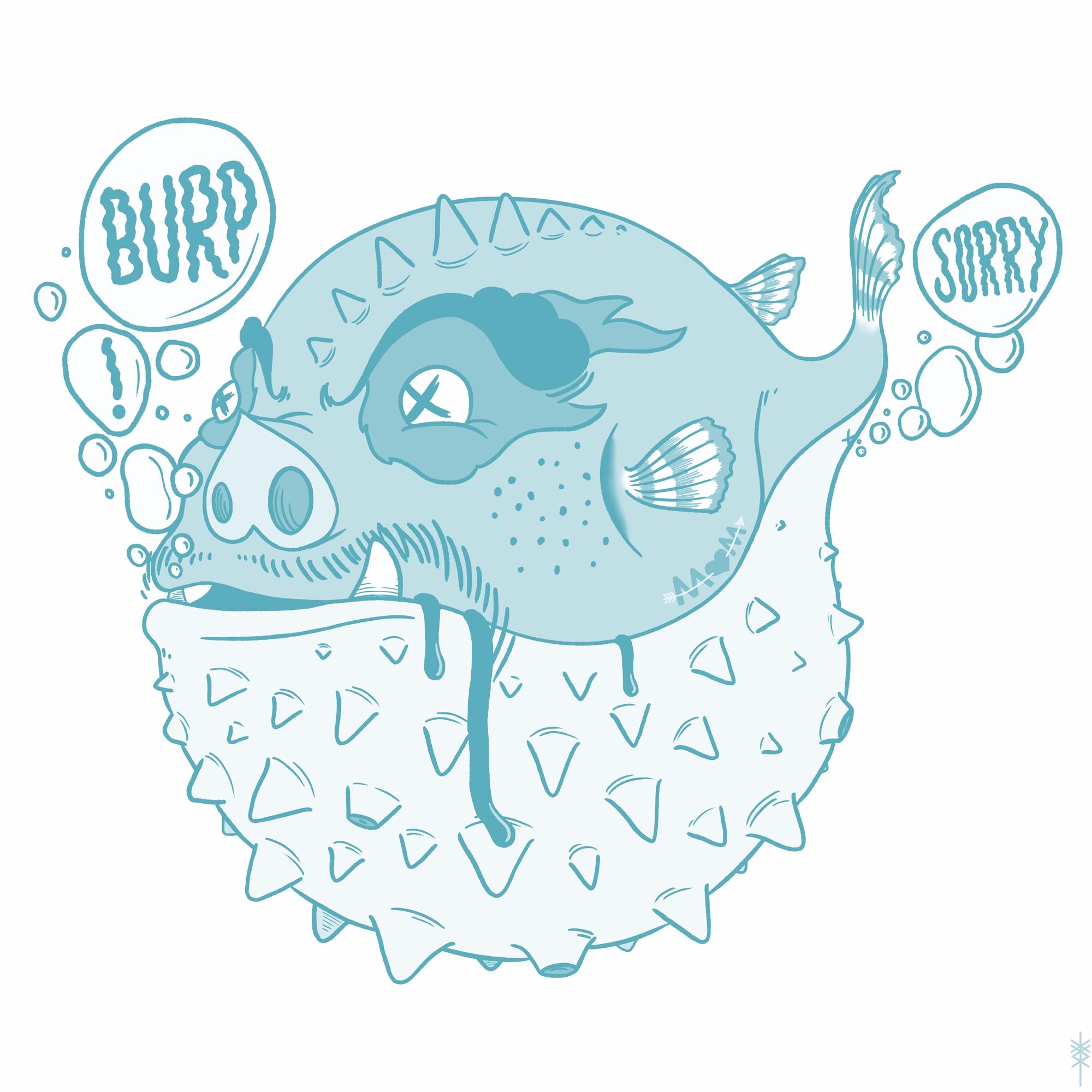 BURPFISH gassy fish - iamstml | ello