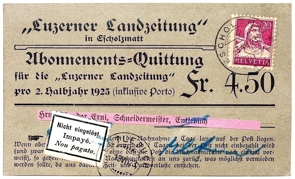 Luzerner Landzeitung number Swi - edbuzz | ello