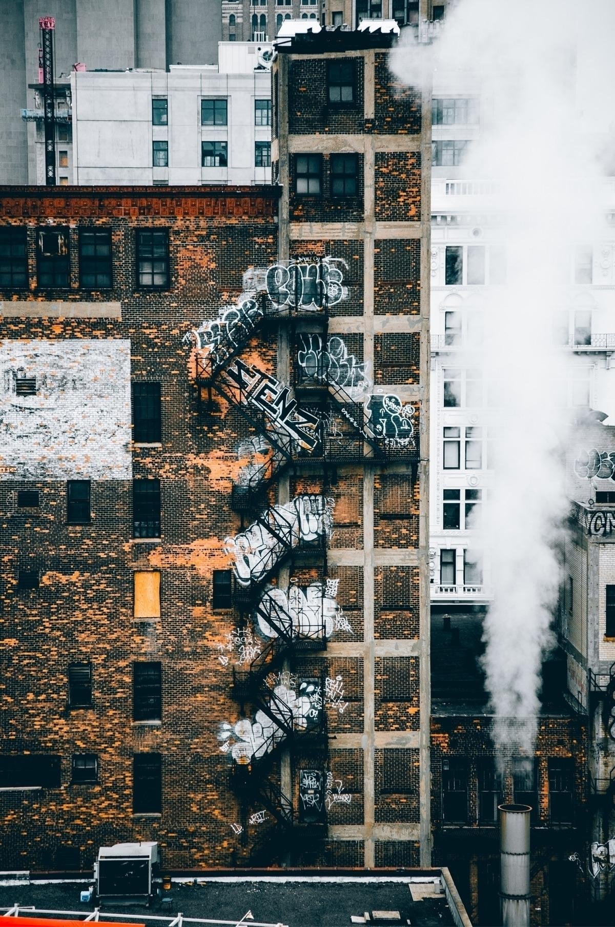 Detroit, NYC - detroit, city, landscape - lowg   ello