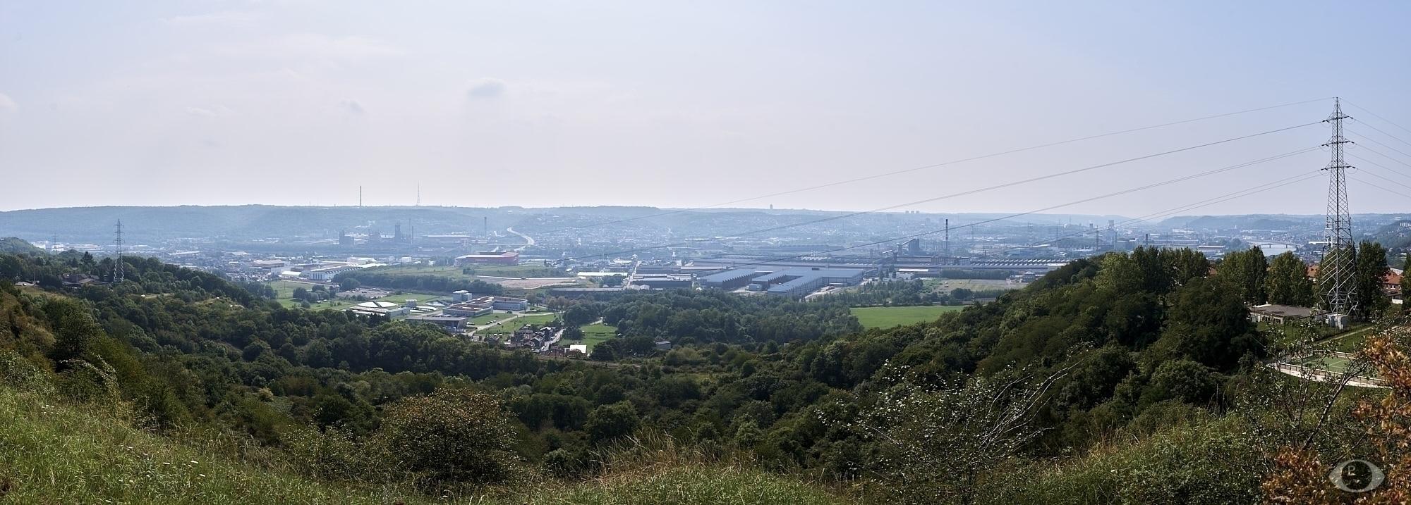 Arcelor steel site, Seraing for - pentaxke   ello