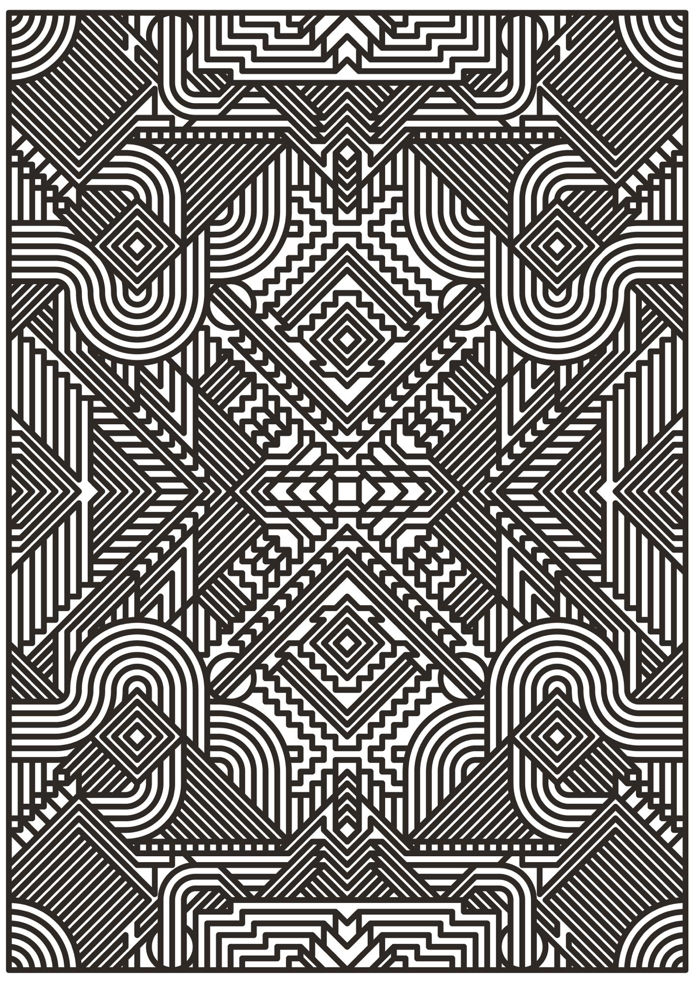 owel - posterdesign, pattern, vector - madebytak | ello