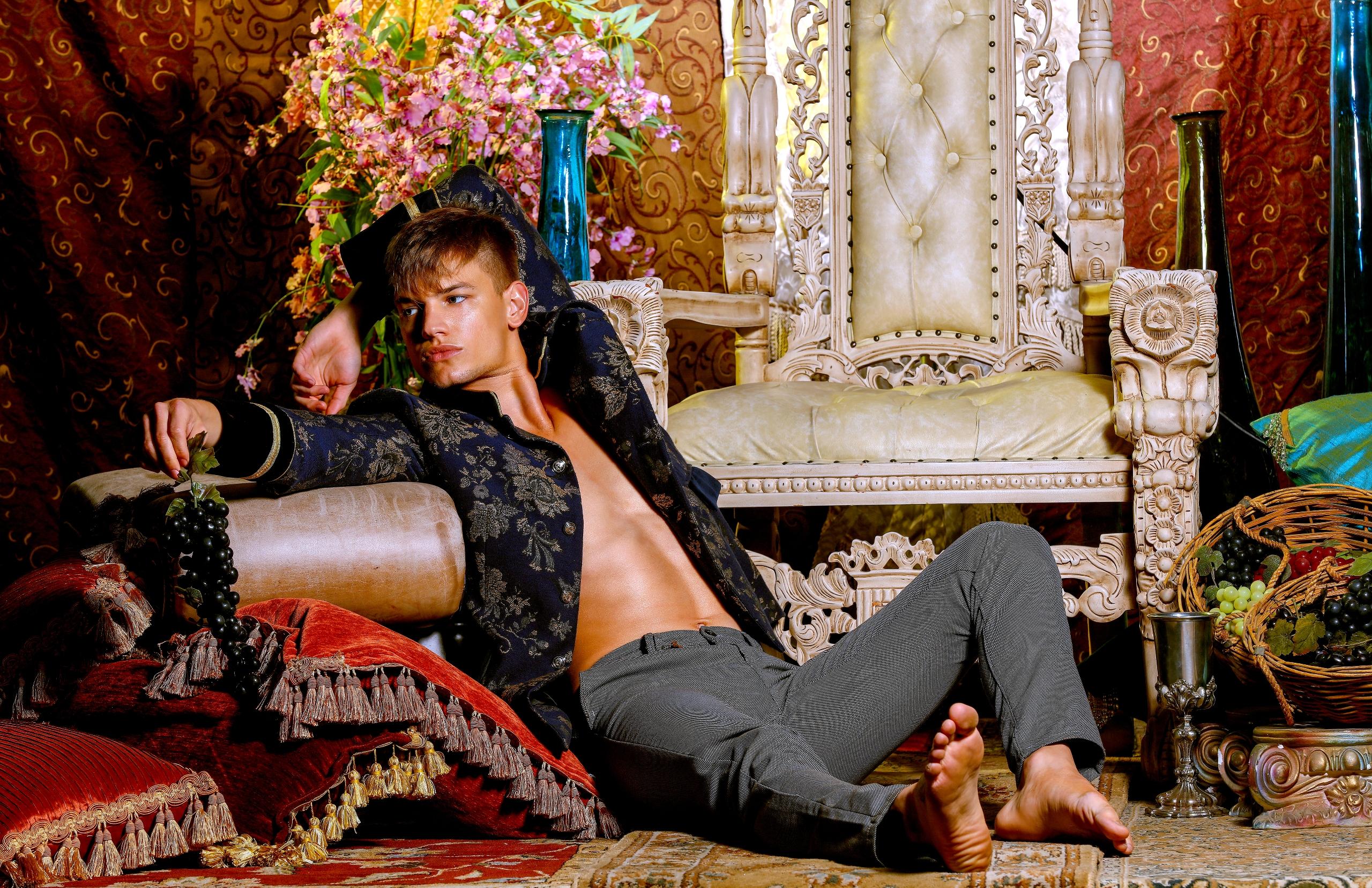 Dionysus - fashion, male, model - fifthdistrict   ello
