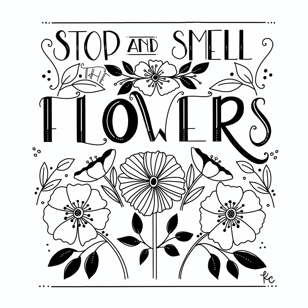 Stop Smell Flowers - kathryncole   ello