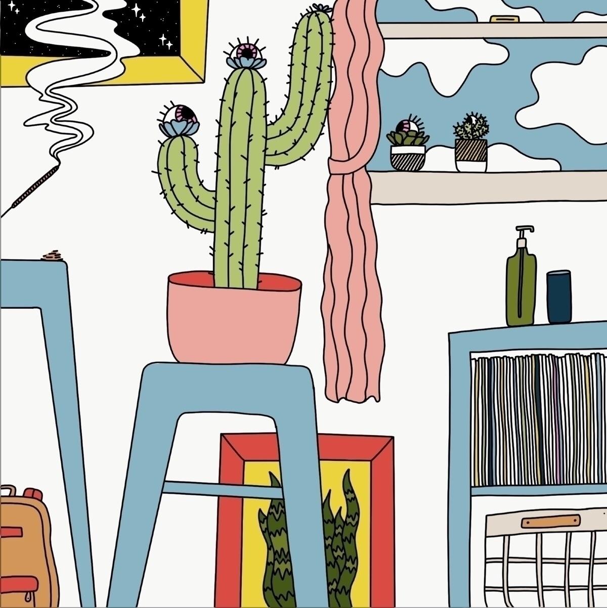 "series ""Rooms Eyes"". spatially  - oktdesign | ello"
