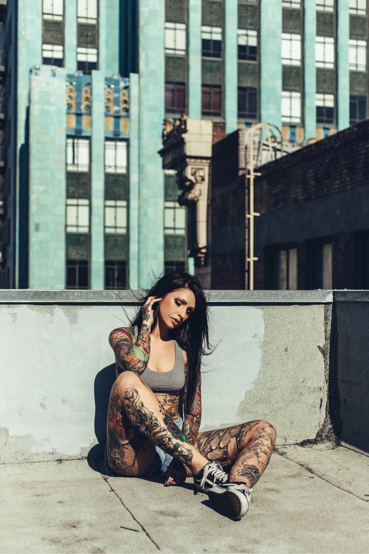 Love cost sanity Model Angela M - ladybaguette | ello