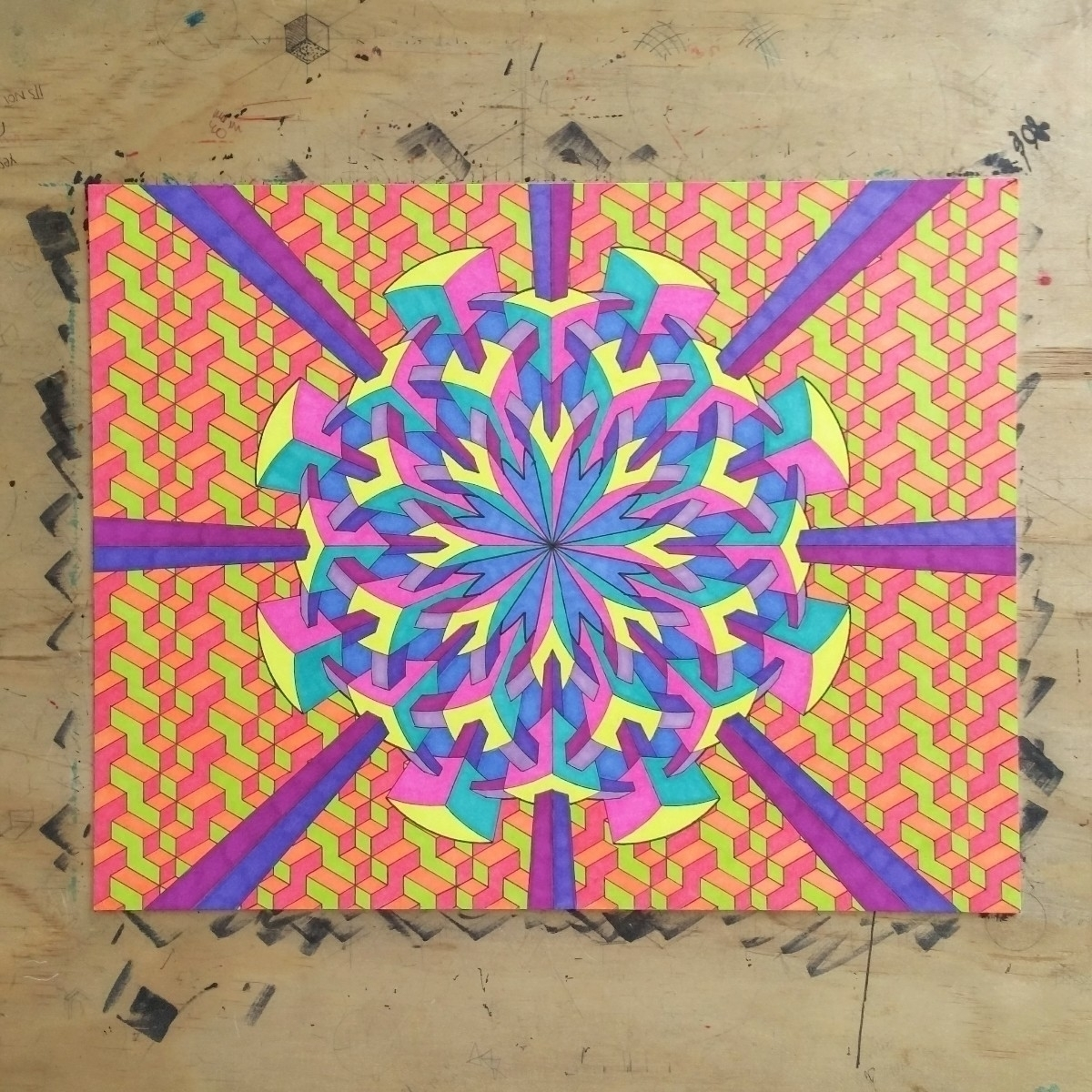 Older drawing favorites - geometry - zzzack | ello