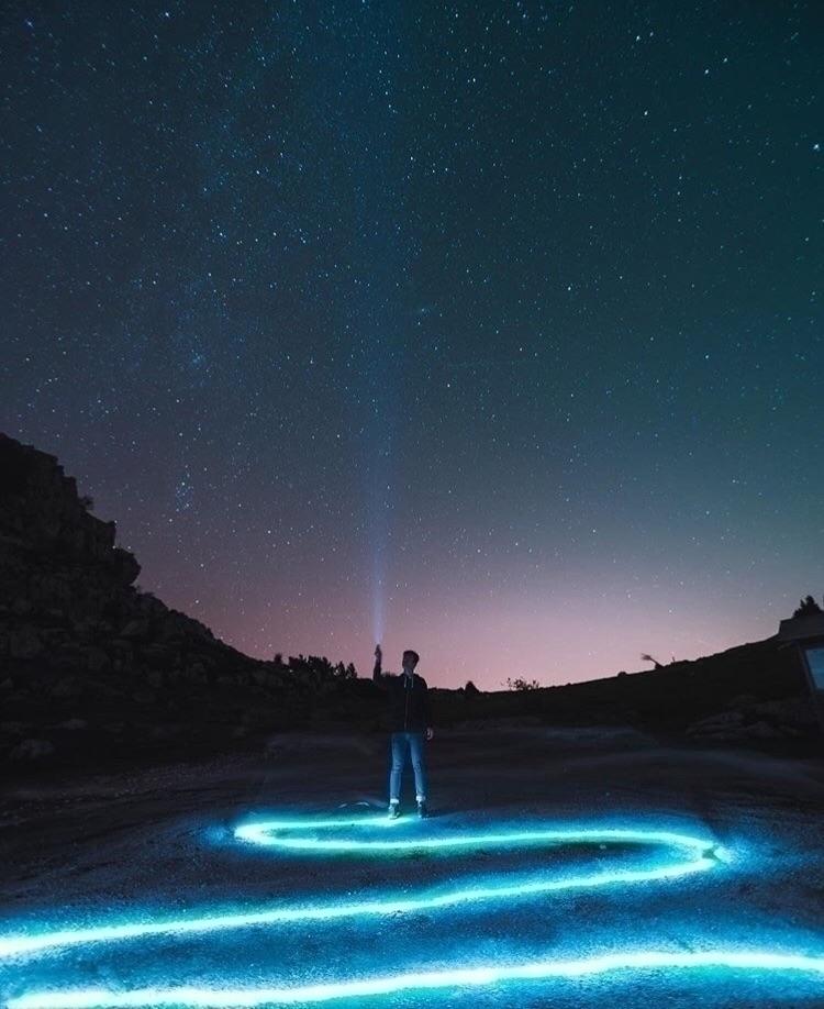 Sky full stars :star:️ - light, lightroom - jxndiaz   ello