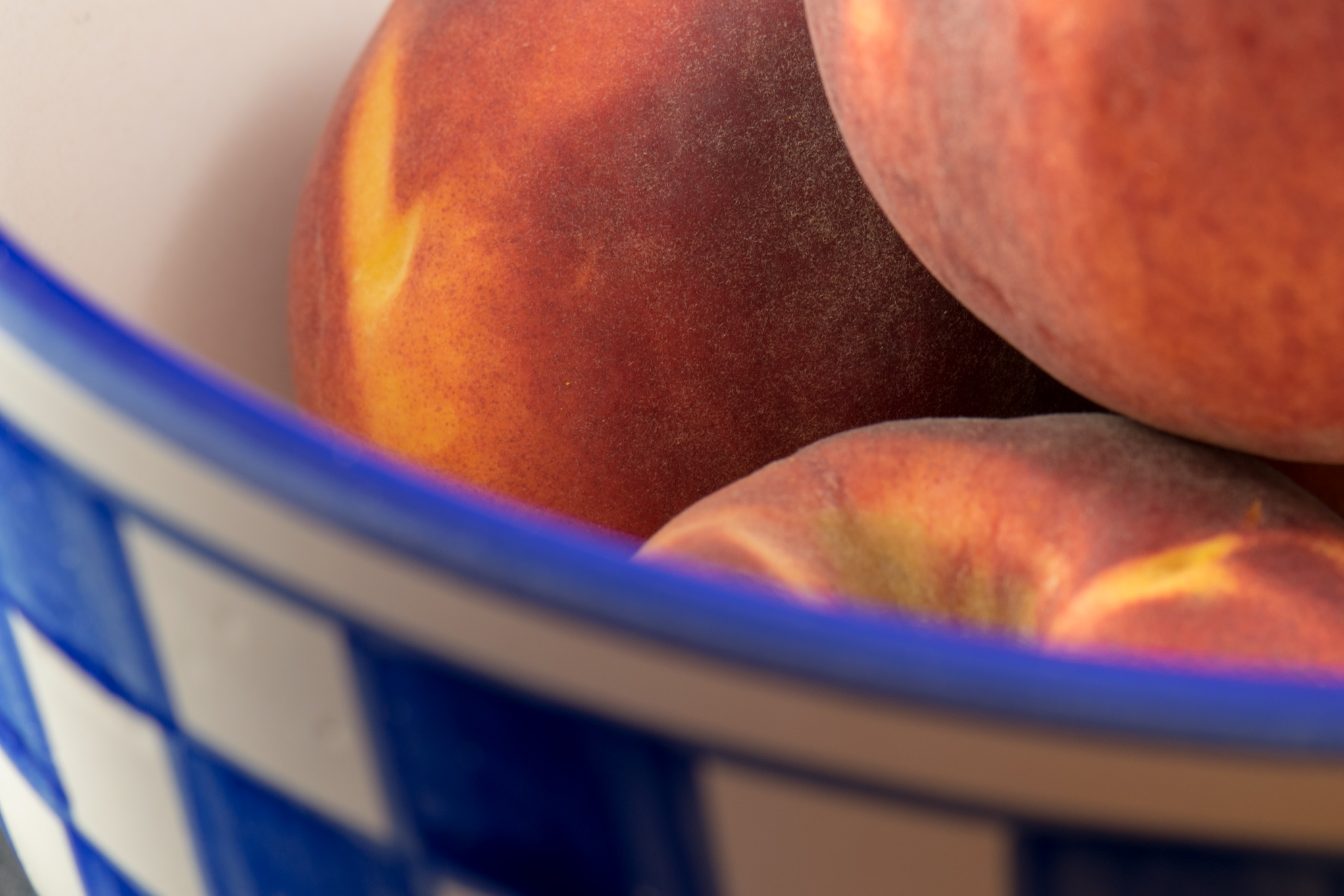 Peach Bowl - food, stilllife, edible - jtmphoto | ello