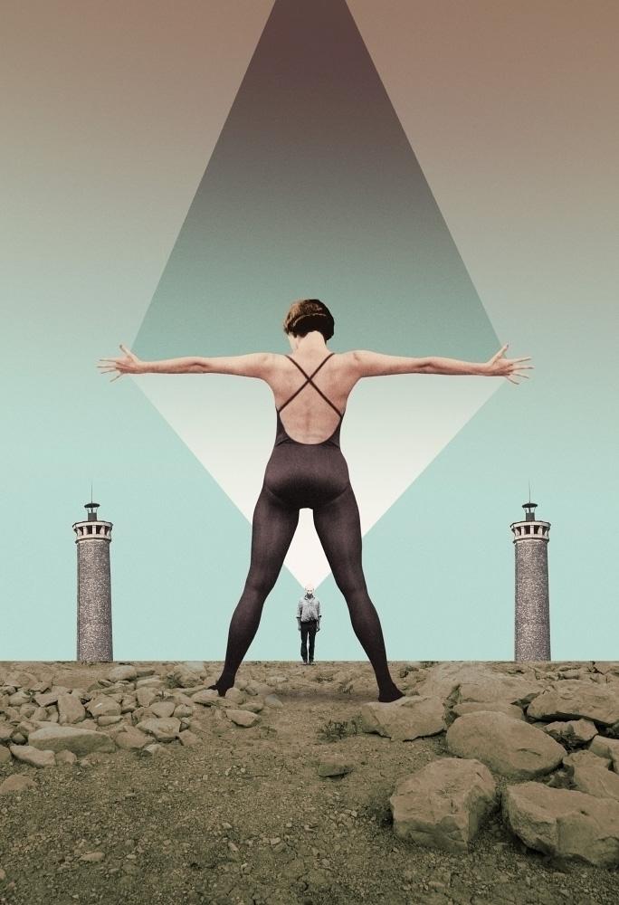 Crossing Minds, 2018 - collage, ellocollage - julienp | ello