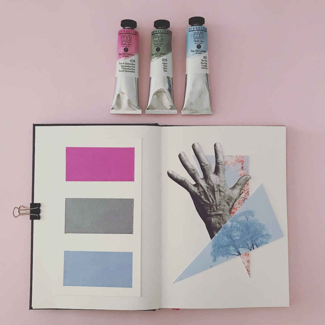 Artistbook page 2 - Collage, Analogue - marianabastoscollage   ello