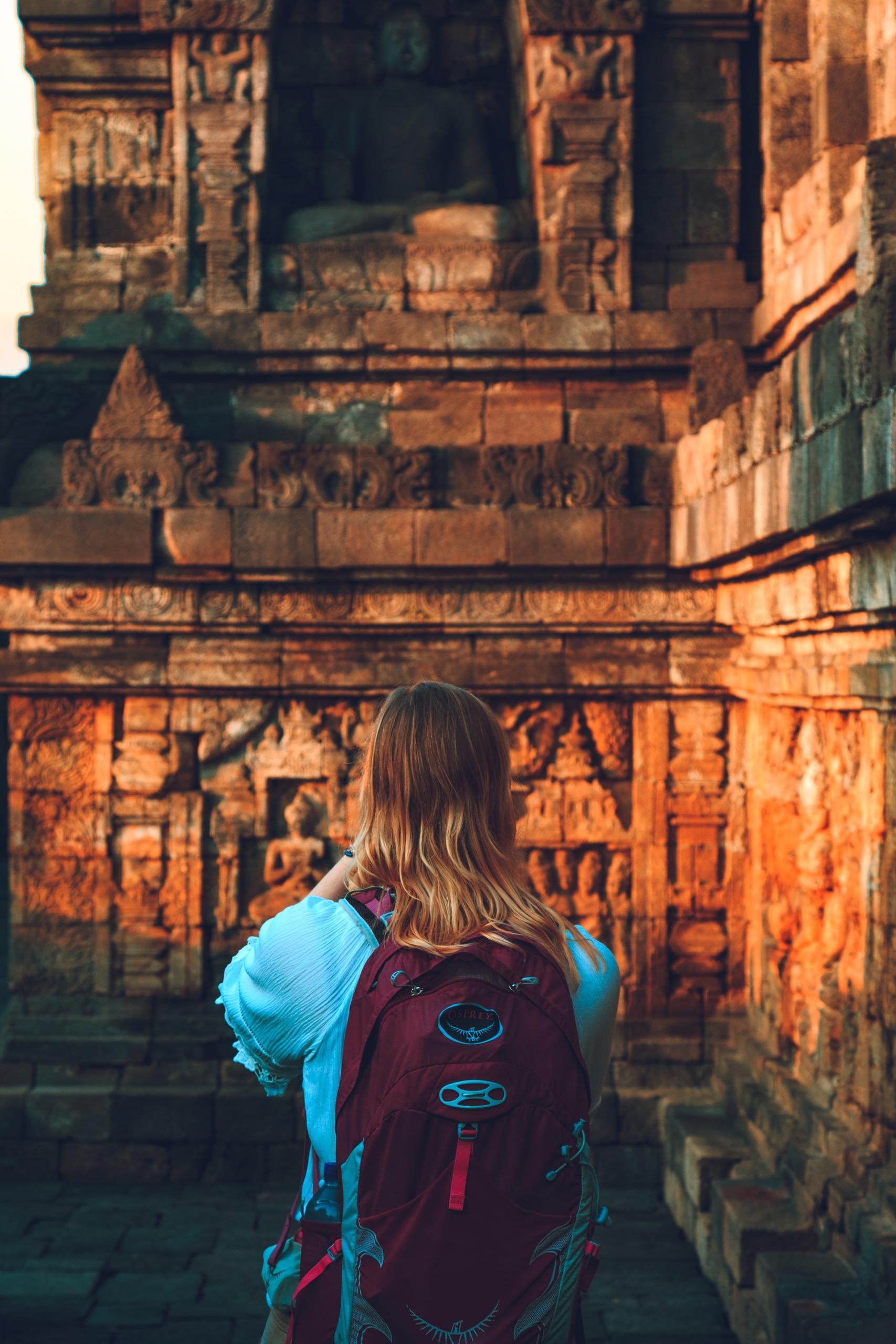 Exploring corridors Borobudur t - brandonvrvilo | ello