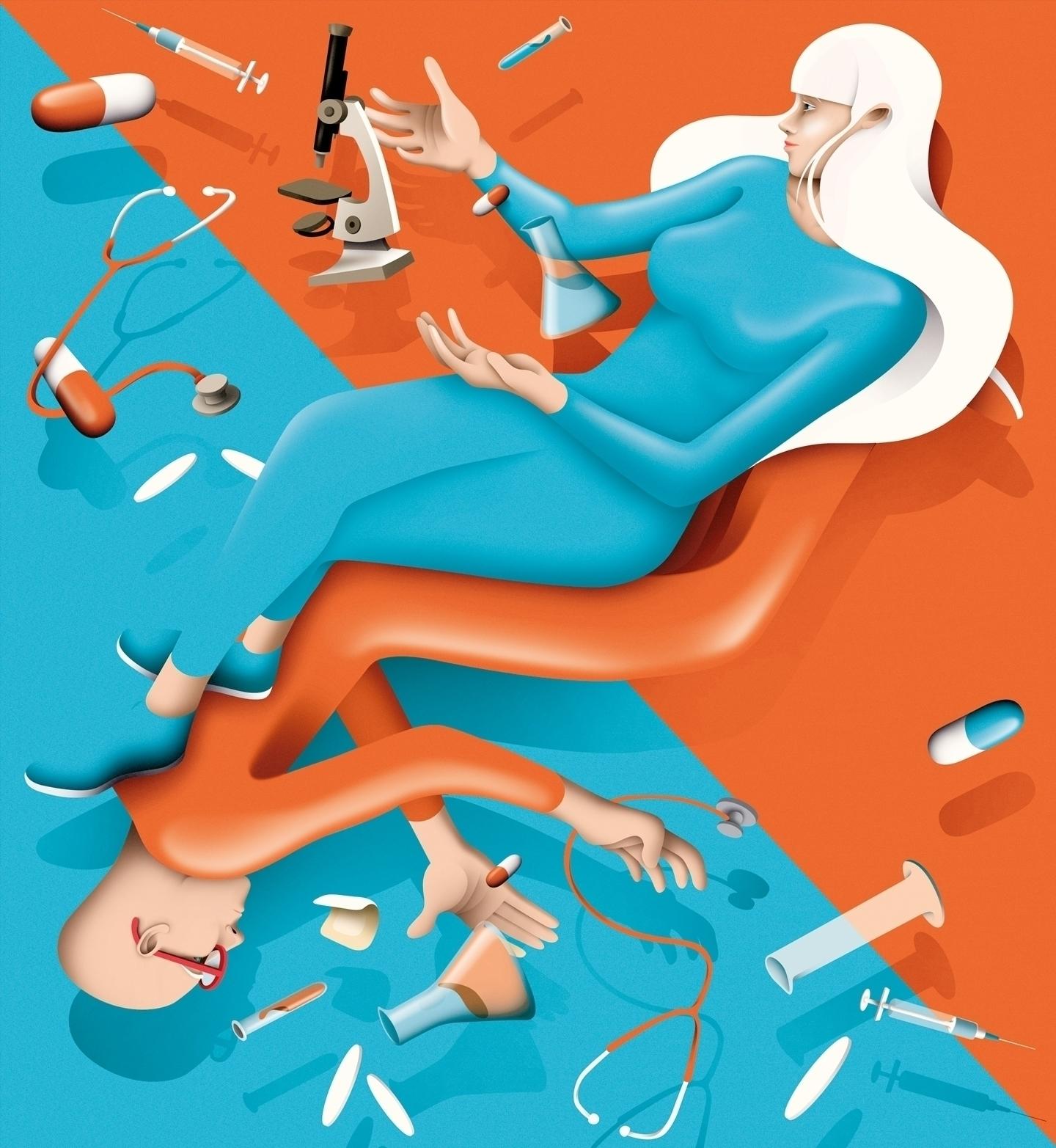 INSERM Science Health Magazine  - iamdaq   ello