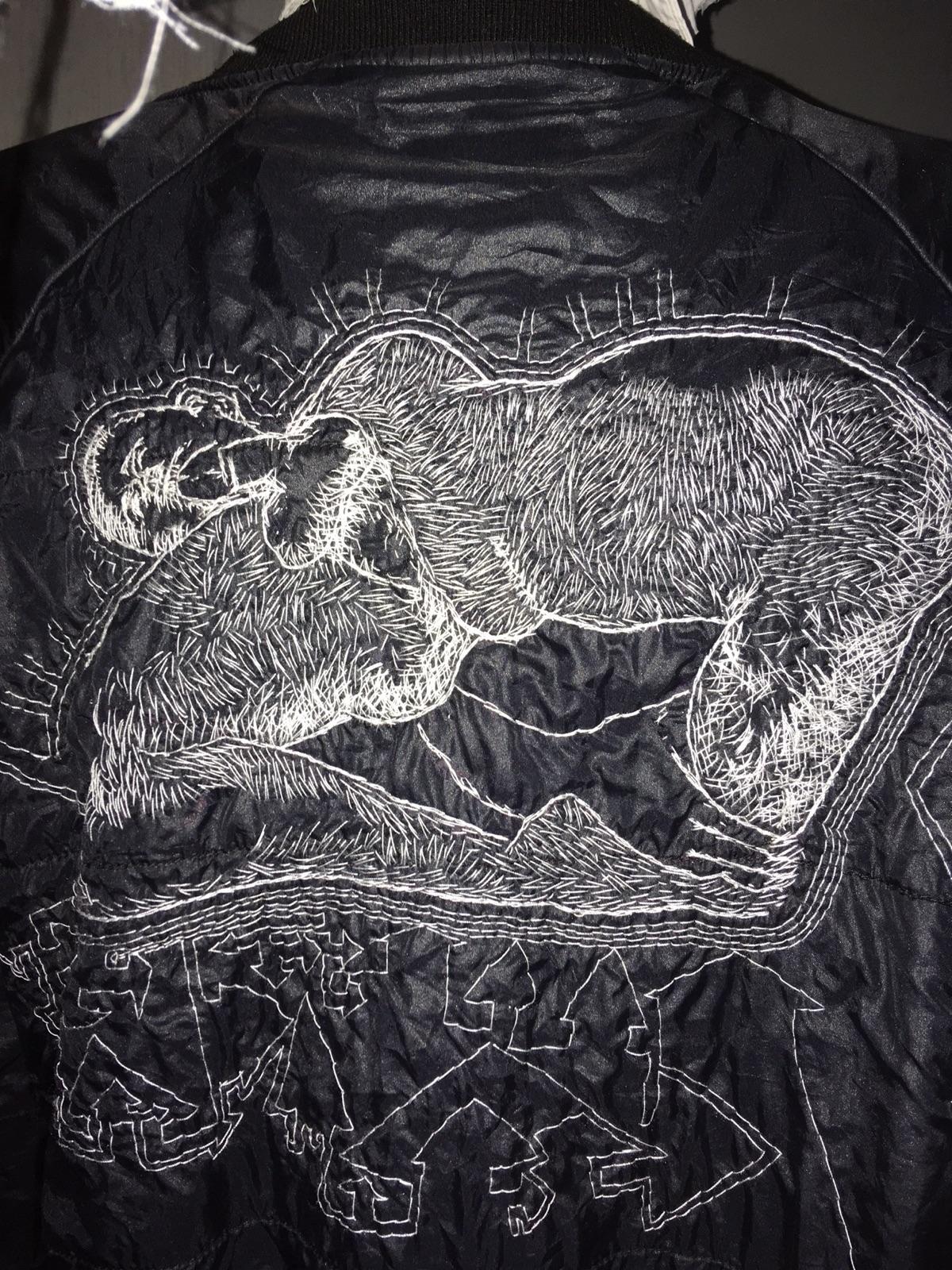 jacket,embroidered drawing.beha - soek_madebysoek | ello