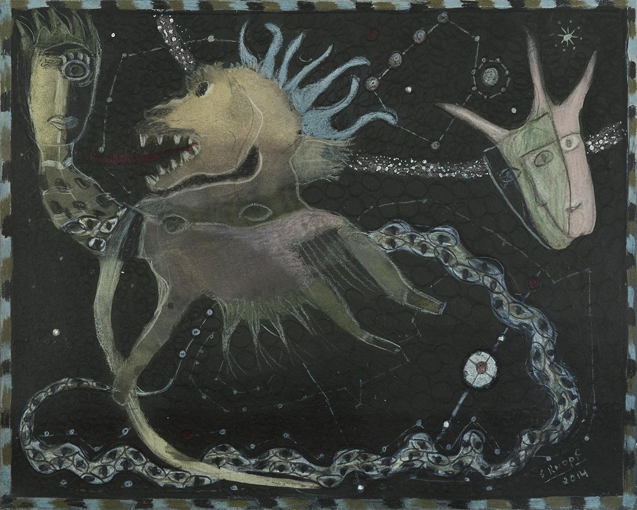 Solange Knopf Le Centaure, 2014 - modernism_is_crap | ello