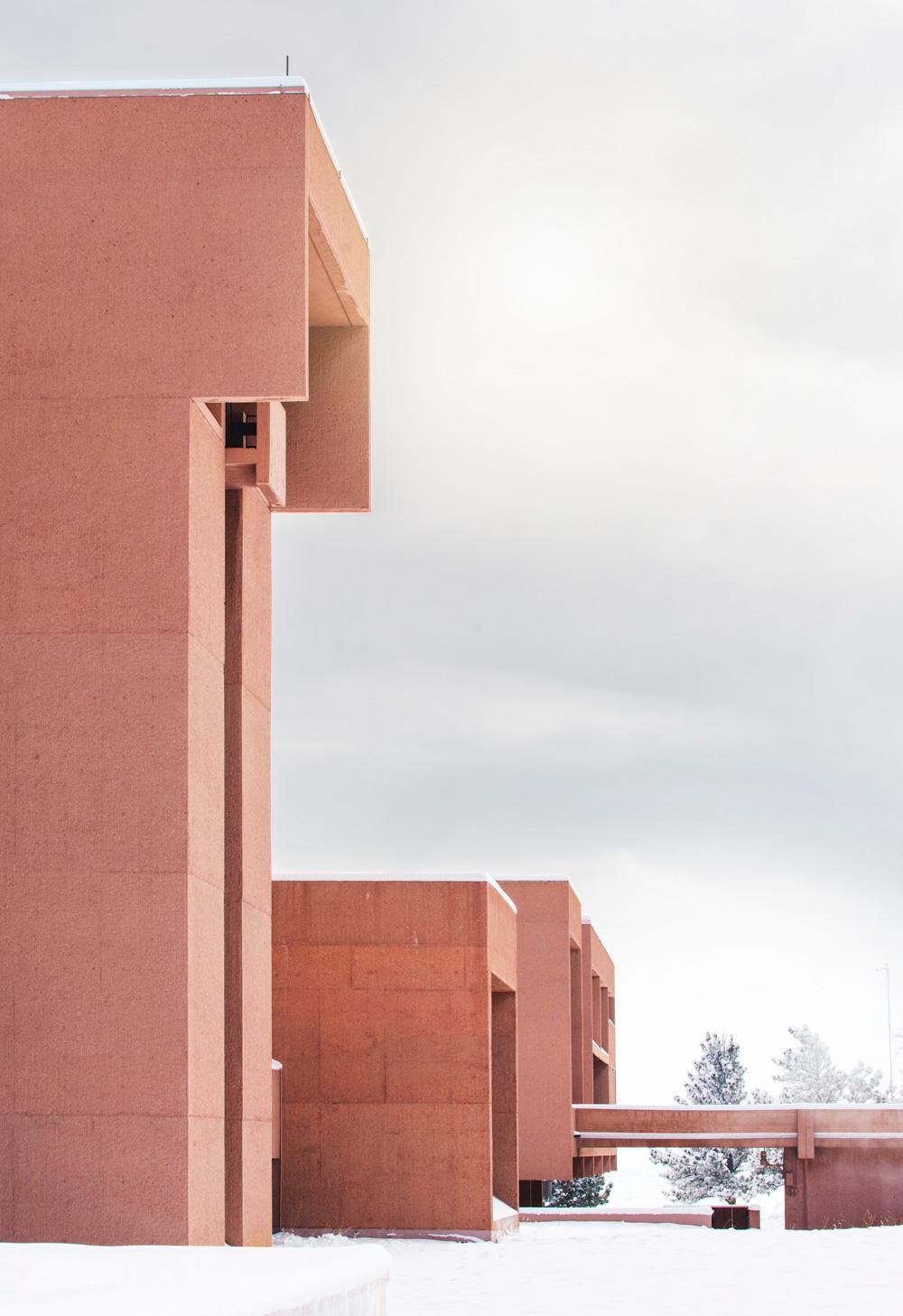 architecture, modernism, snowday - dscottclark | ello