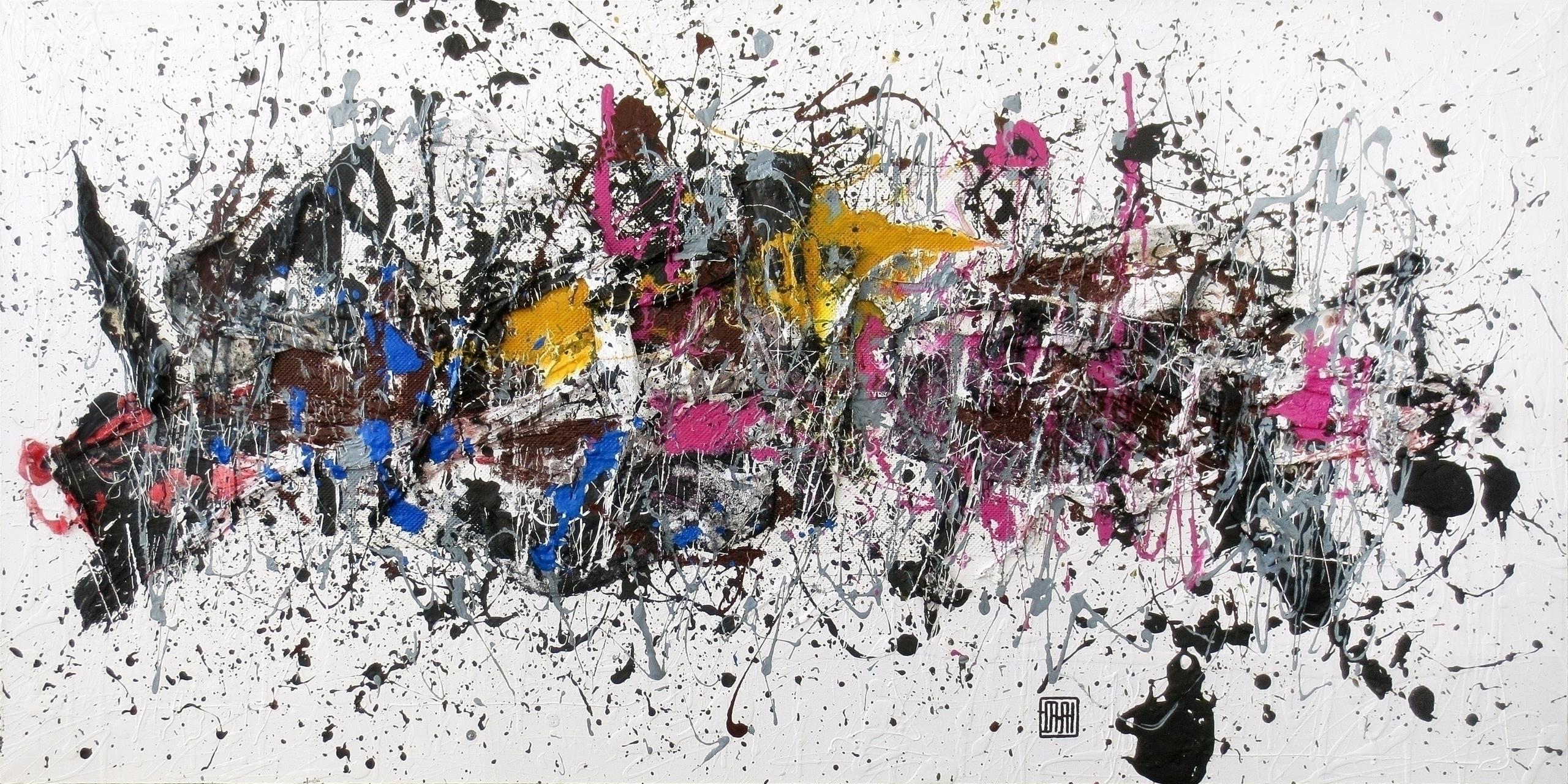 Artwork A80 acrylic canvas Year - damjanpavlovic   ello