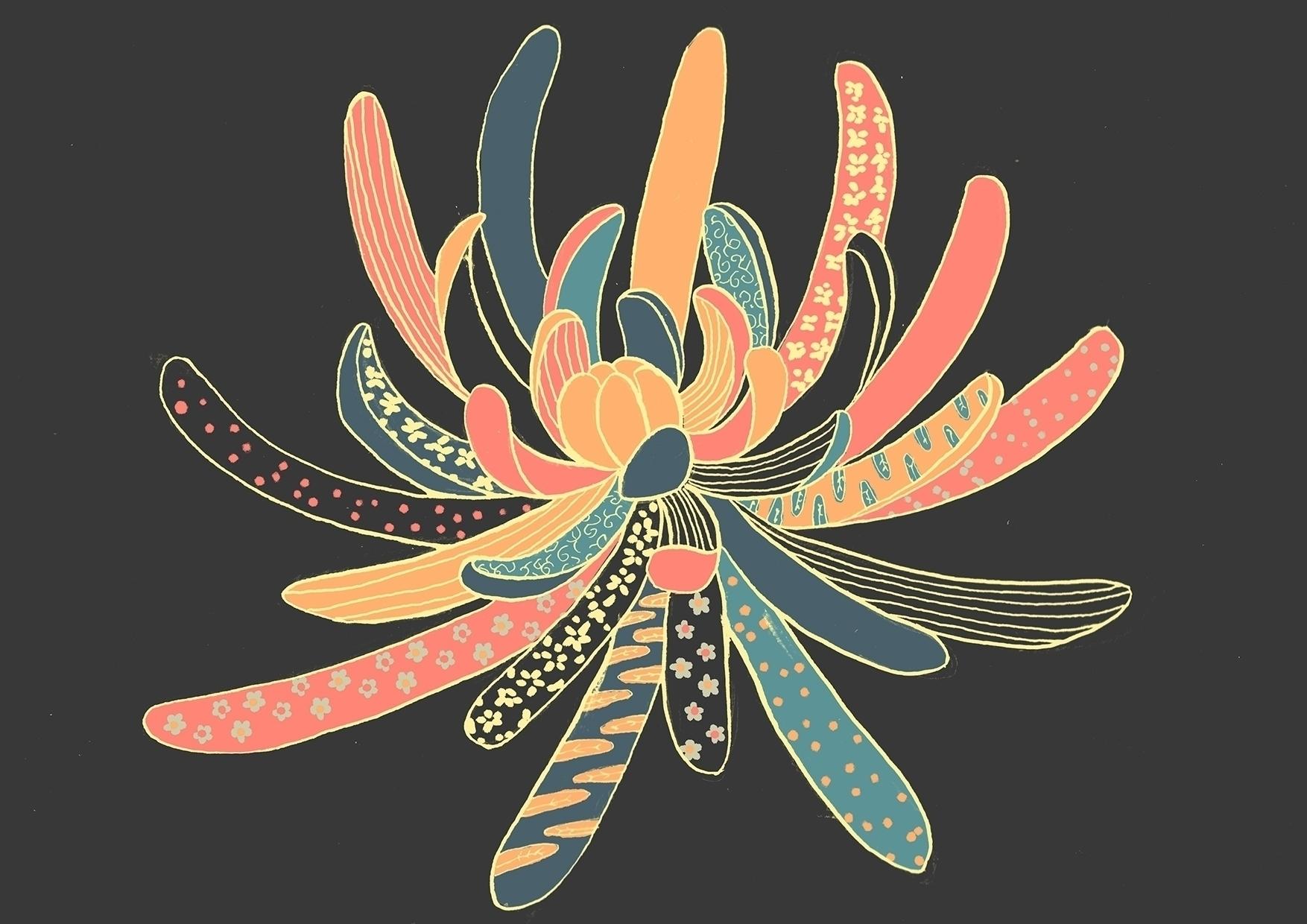 Title: Chrysanthemum Magic Bio - mayumiharyoto | ello