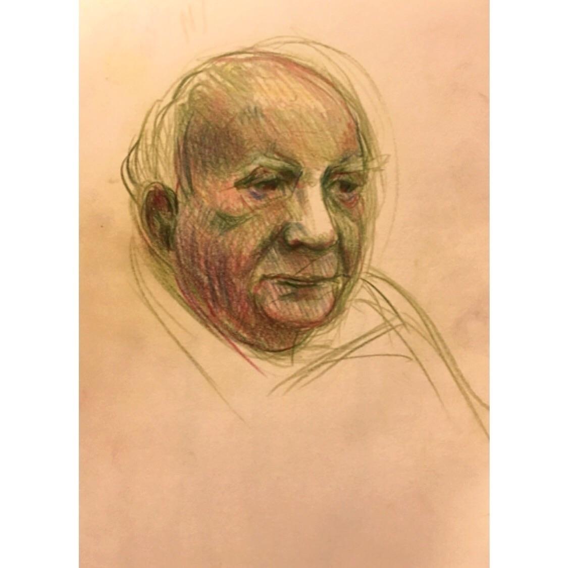 Portrait man  - drawing, portrait - yuliavirko | ello