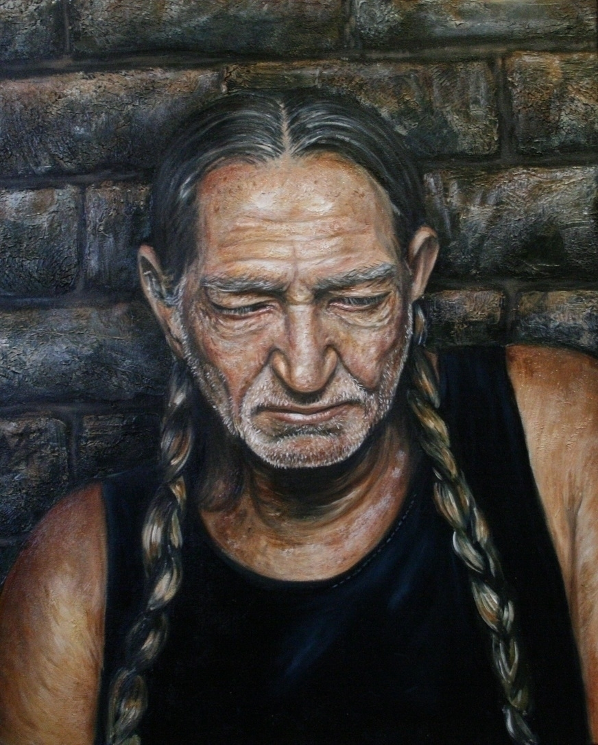 Willie Nelson Michael Piper Oil - michaelpiper | ello