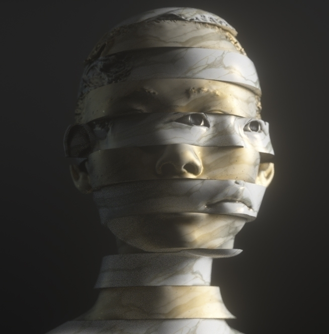 faces - ello3d, 3d, wip, ello, digitalart - flxrothschild | ello