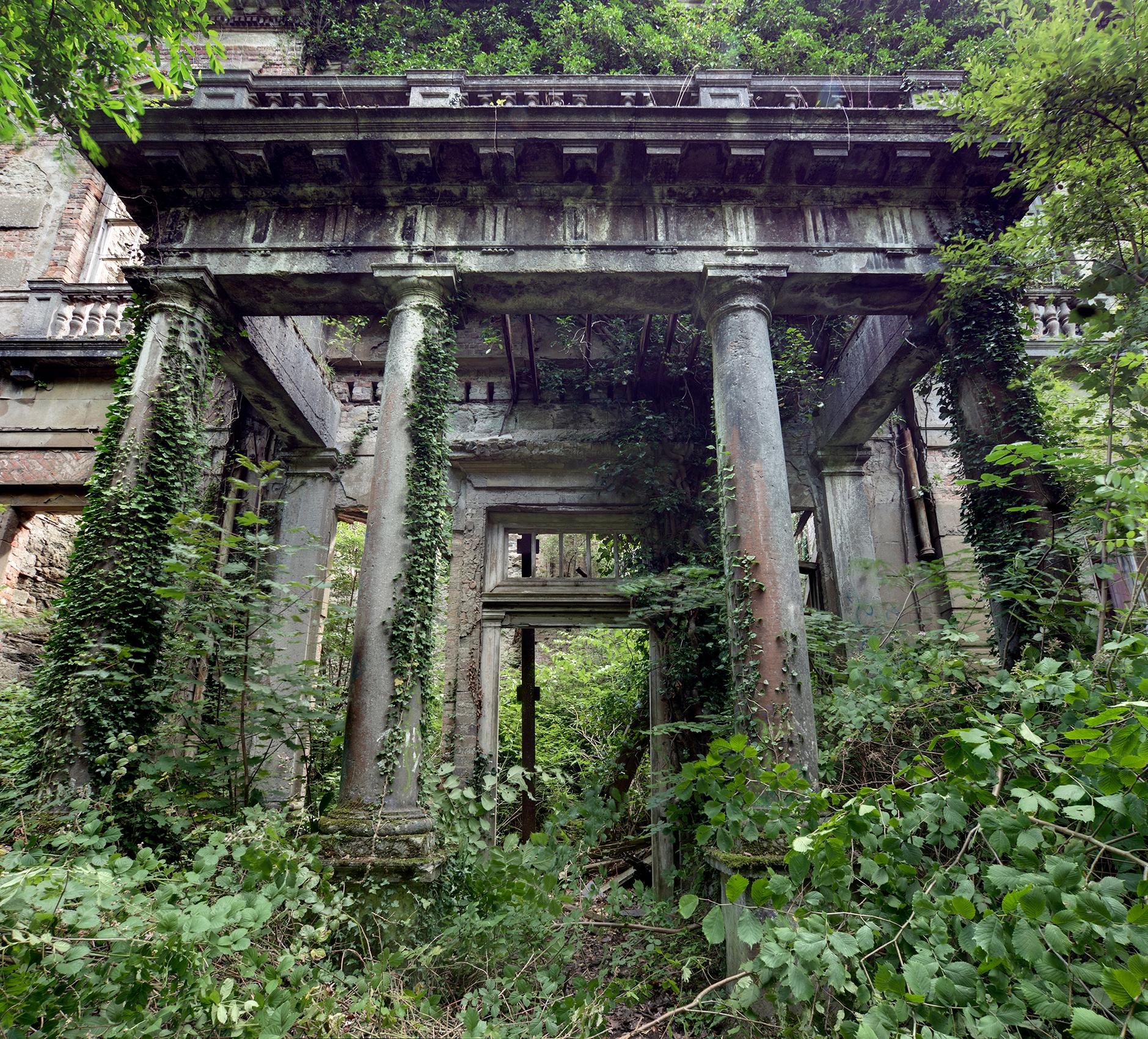 ruins portico entrance front la - forgottenheritage | ello