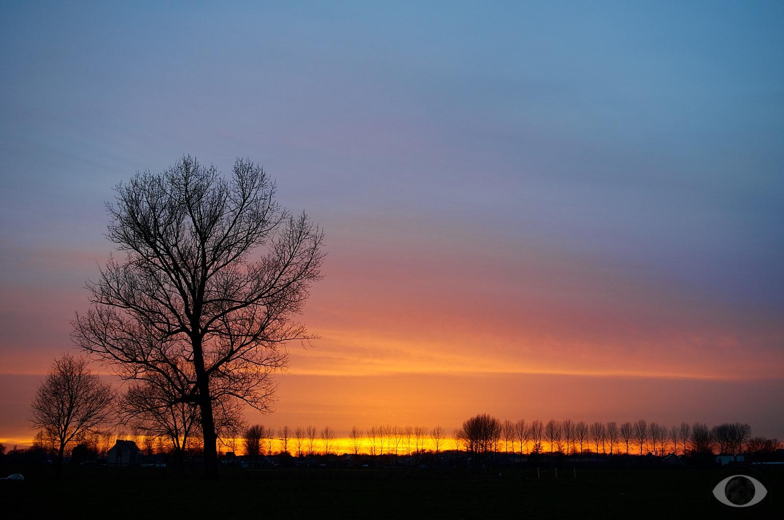Sunset. nice sunset happened wa - pentaxke | ello