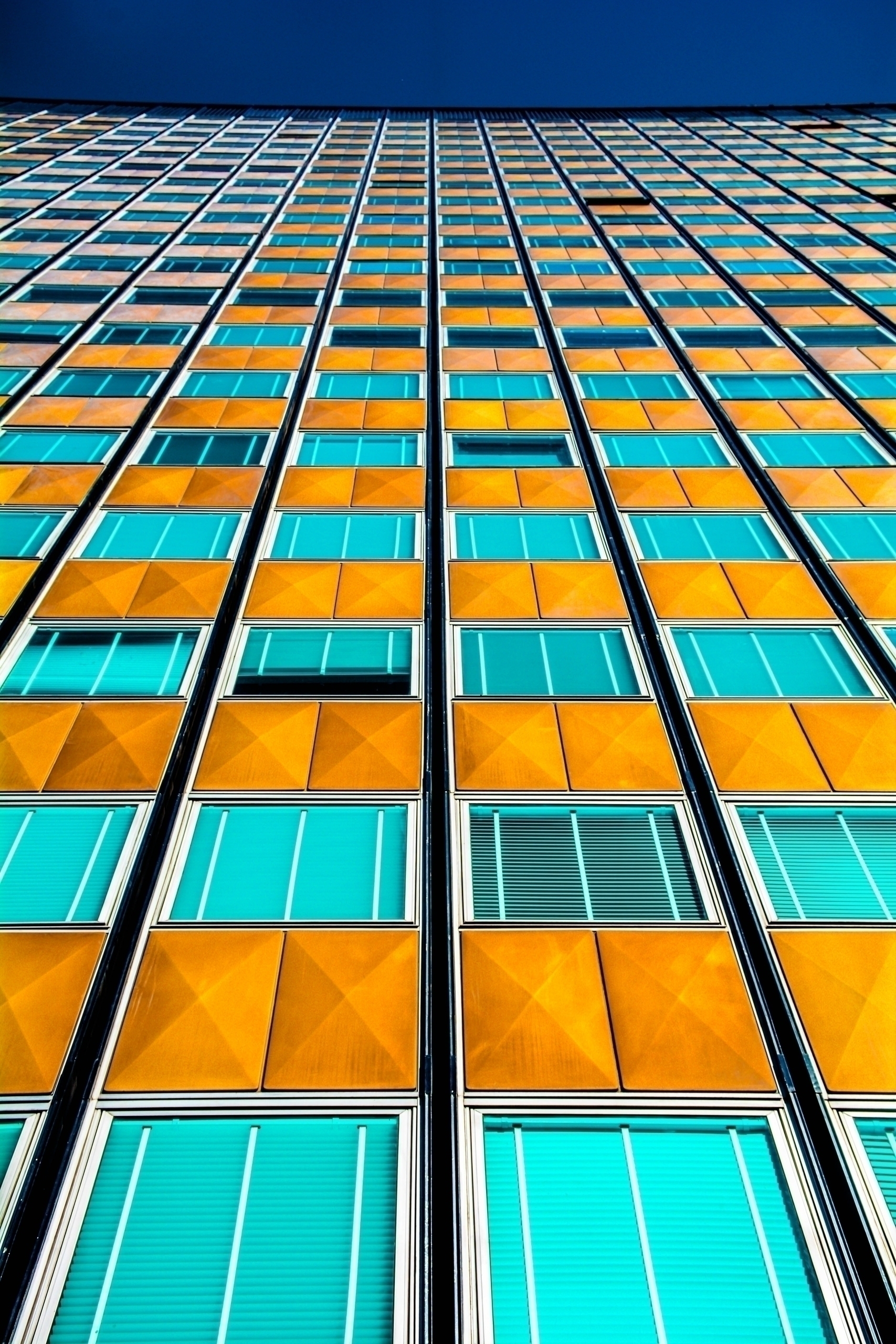 Blue Yellow Building Buenos Air - francofafasuli | ello