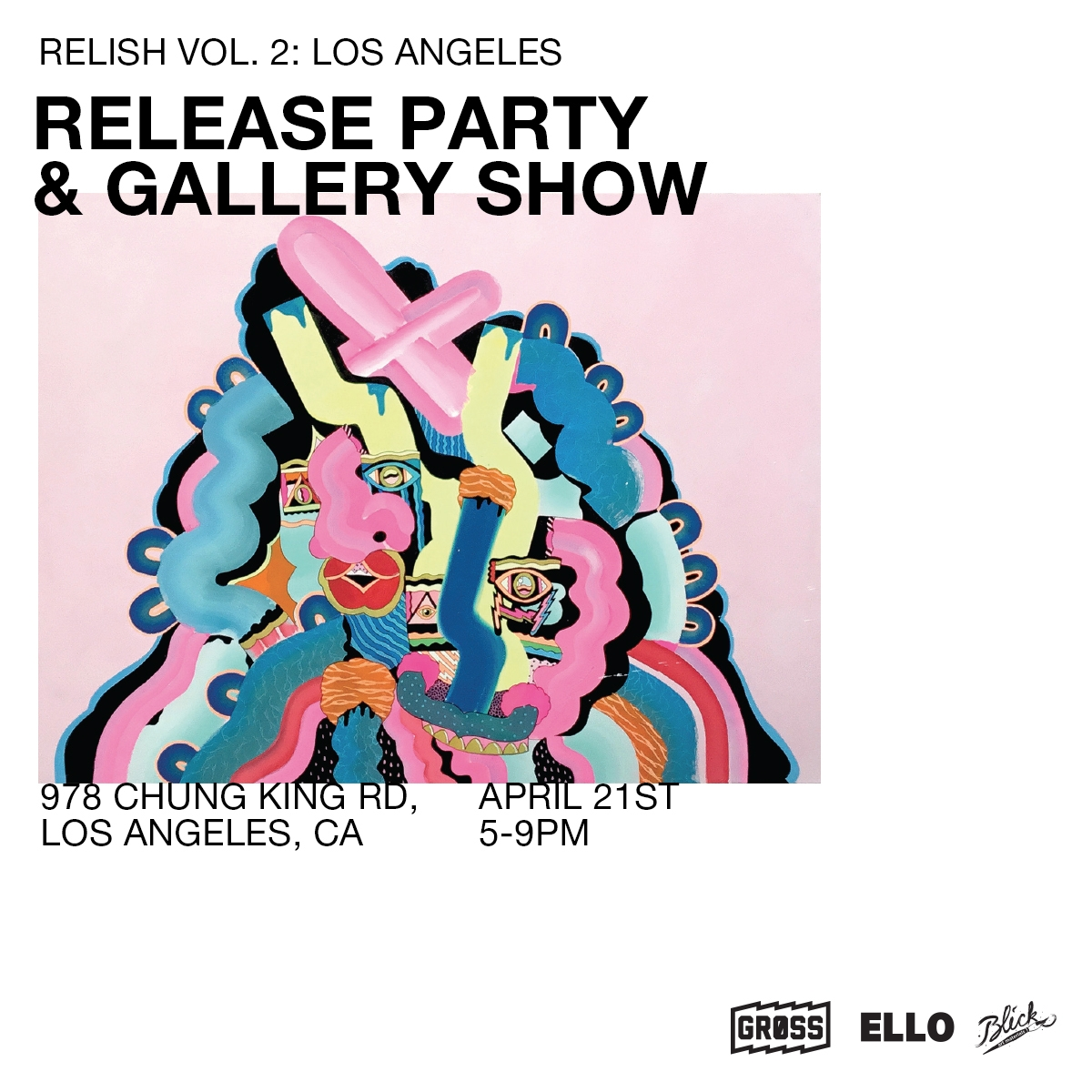 LA group show! Info flyer, roll - undianuevo | ello