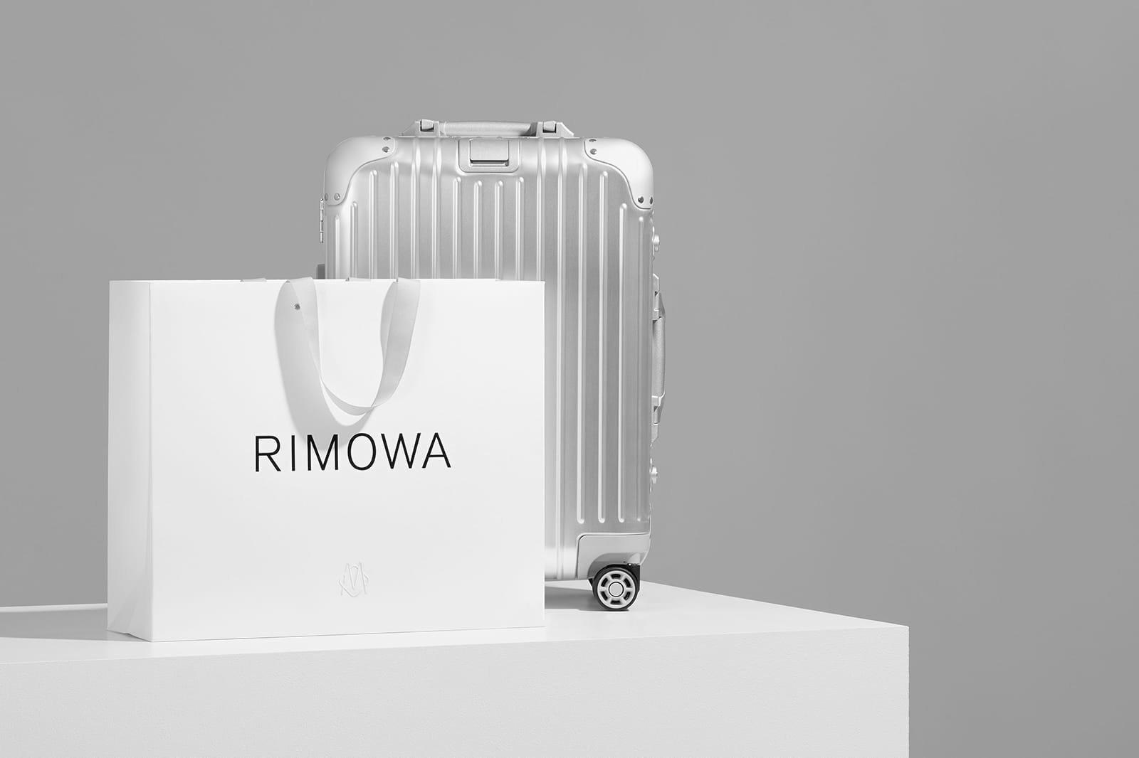 Luggage brand Rimowa rebranded  - minimalissimo   ello