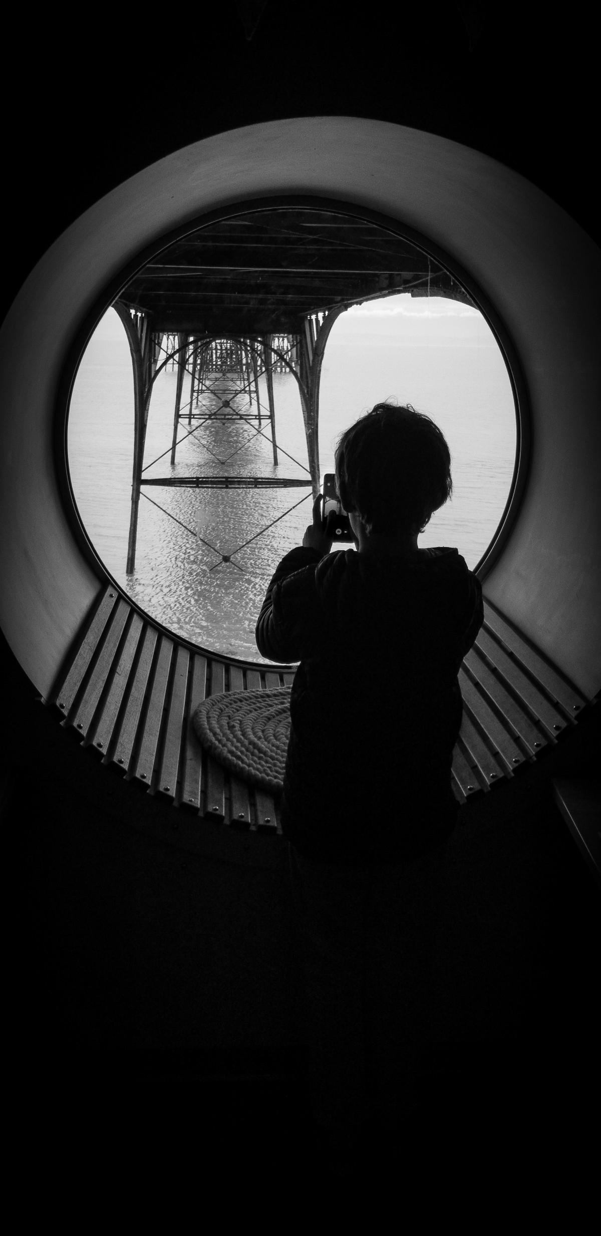 underbelly Clevedon pier - SamsungS8 - john_earle | ello
