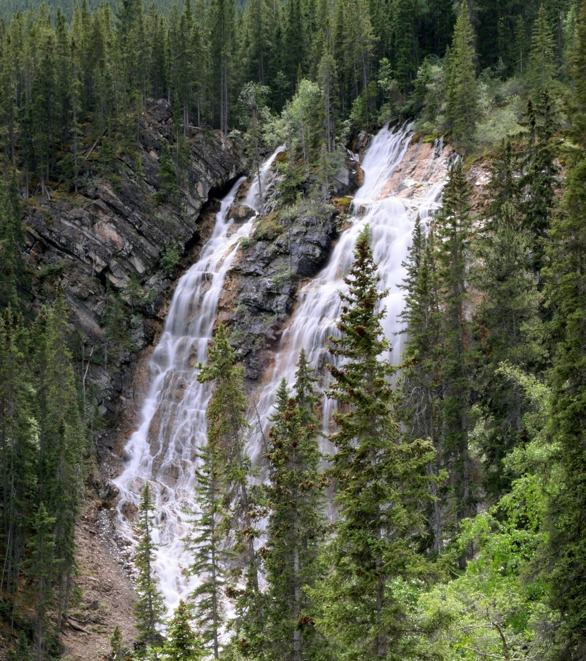 Waterfalls Grassi Lakes - Canmo - camwmclean | ello