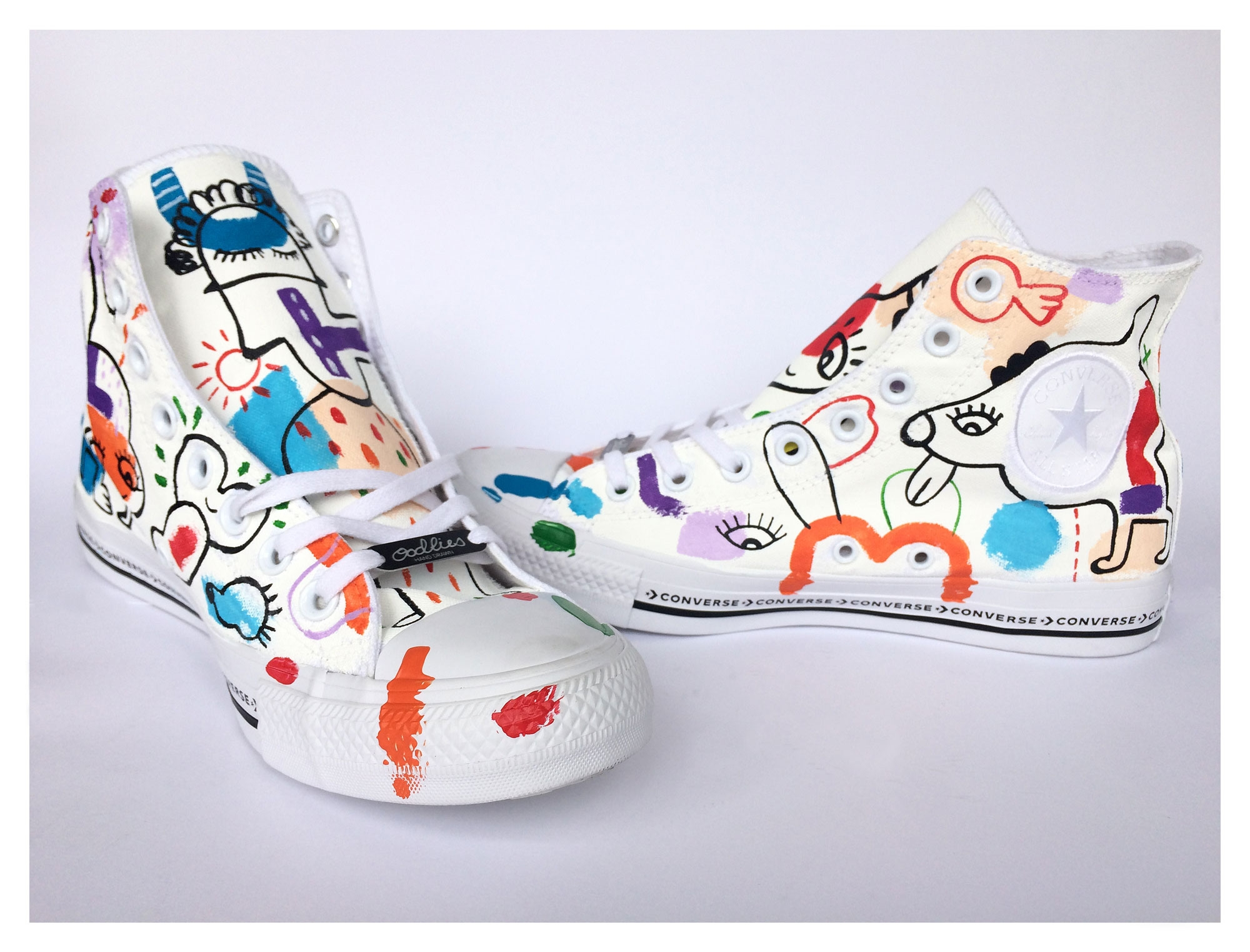 Customised Converse - joimurugavell | ello