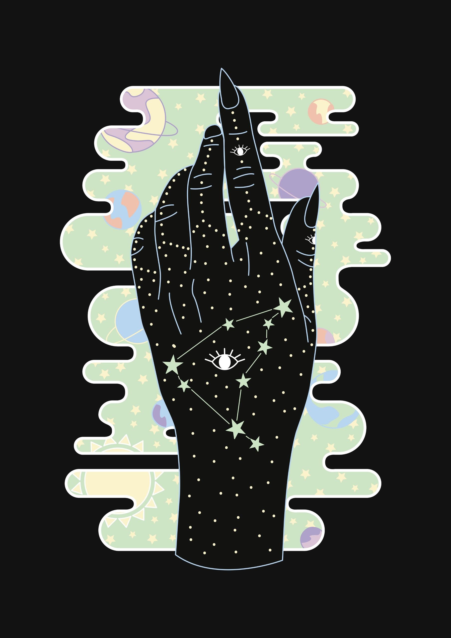Capricorn Zodiac Constellation  - mrkttnr | ello