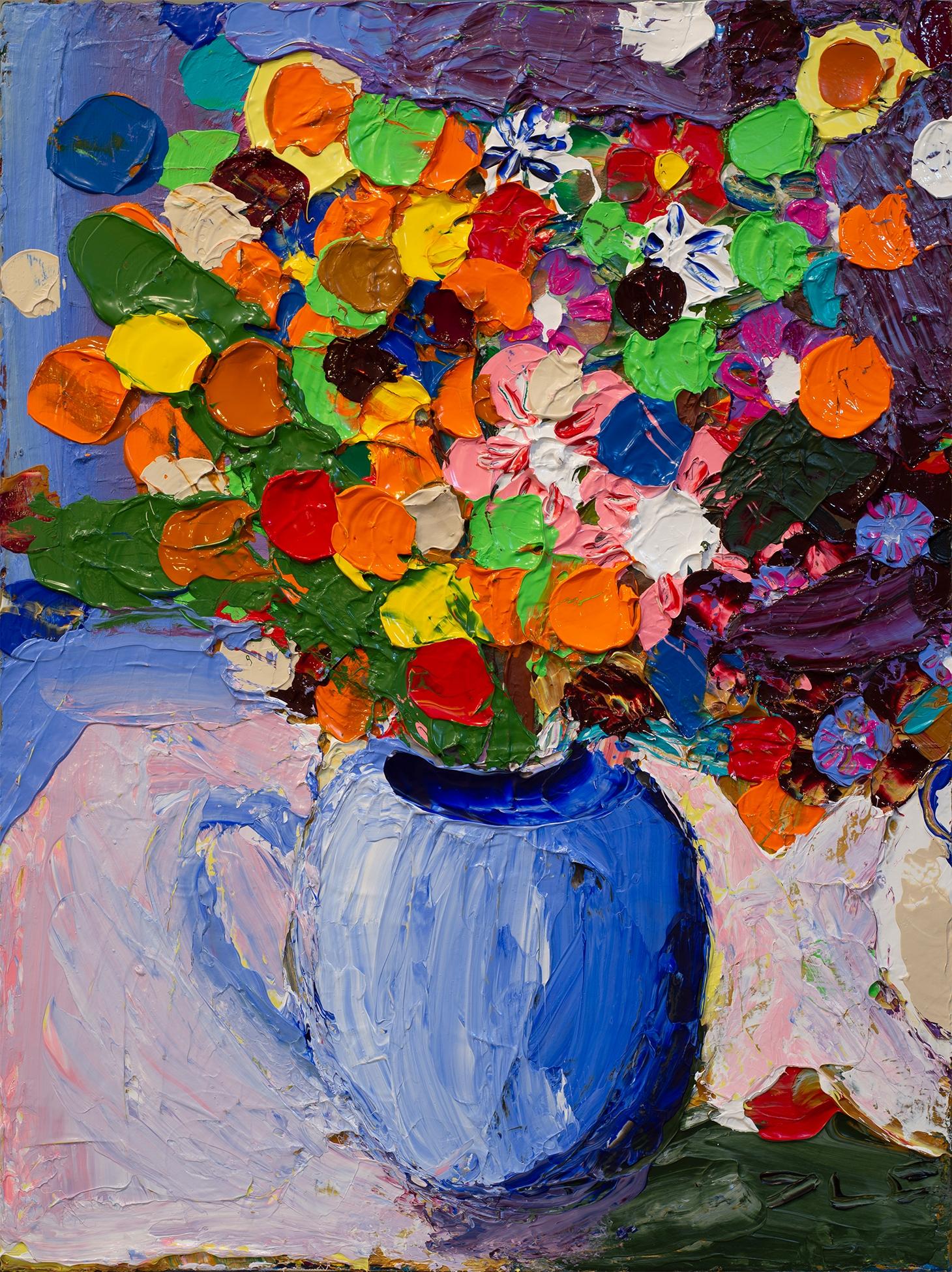 Flowers IV Acrylic canvas 24 16 - chunbumpark | ello