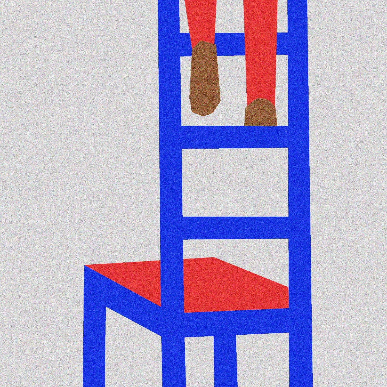 CLIMBING - illustration, artwork - sebastiankoenig | ello
