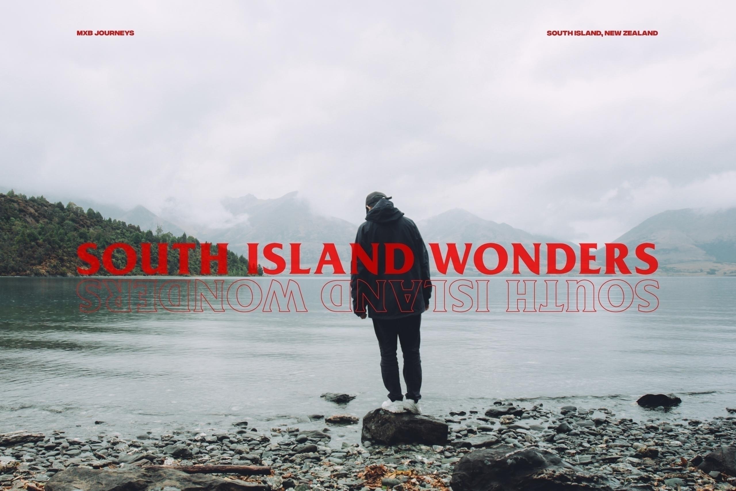 South Island Wonders revisit so - hueyminn_ | ello