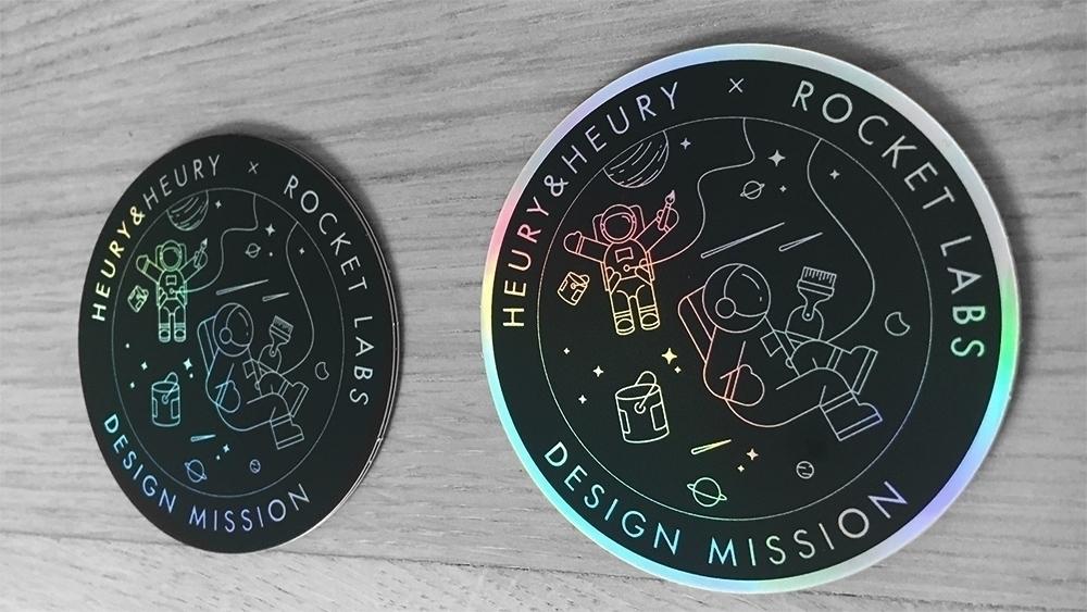 Design Mission - Sticker, Space - heuryandheury | ello