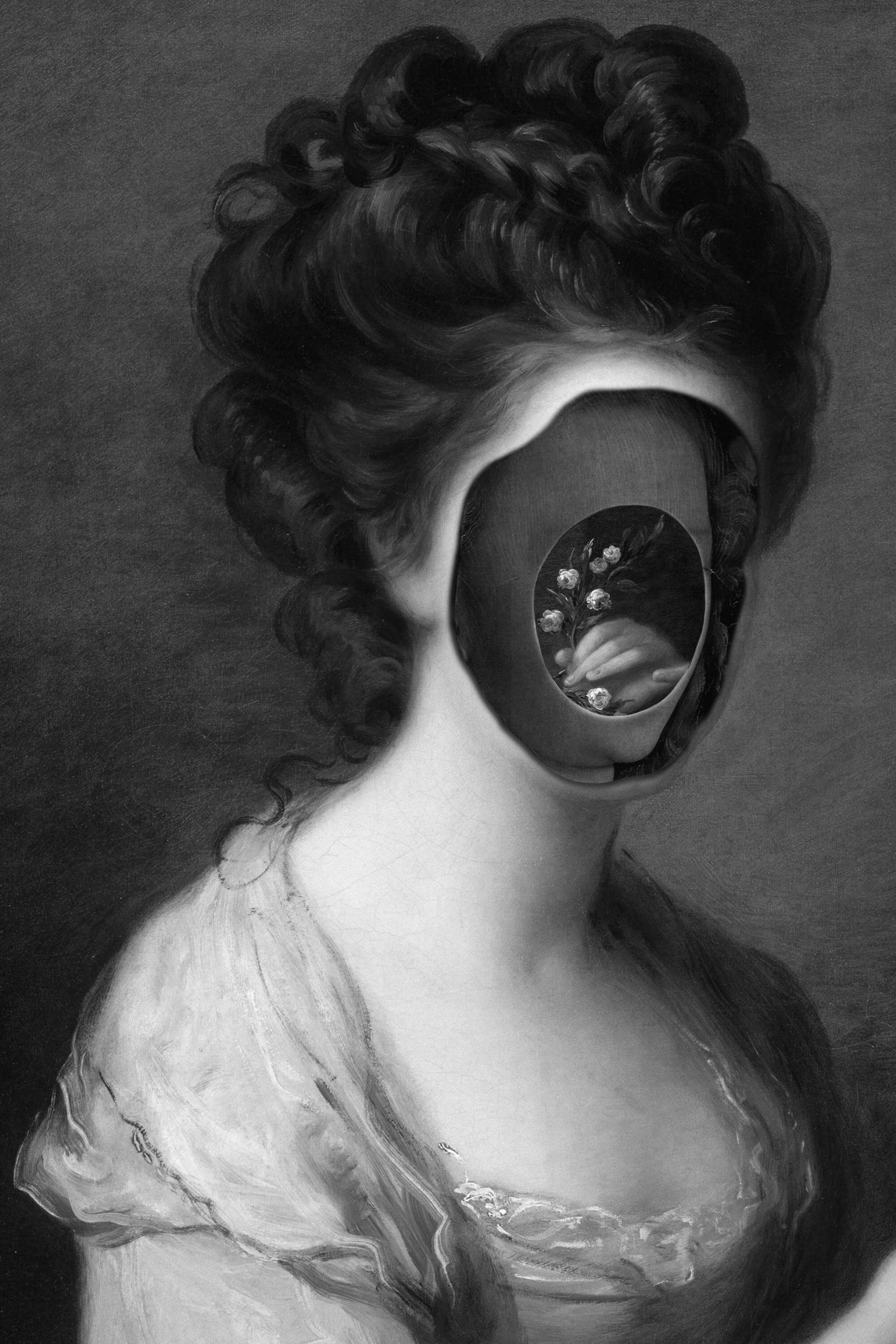 Collages Hidden Velvet Dark Sil - inag | ello