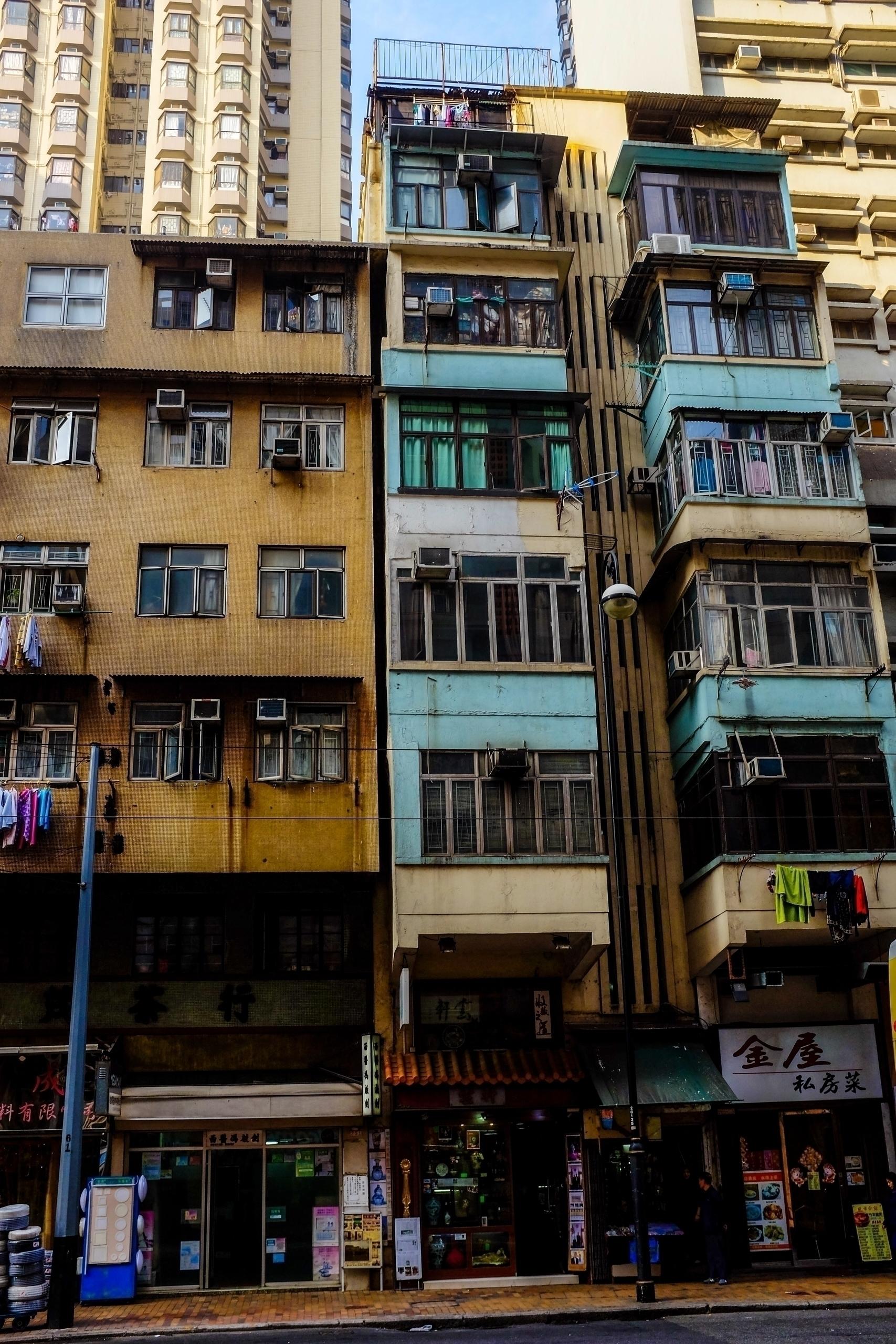remaining buildings Hong Kong - photography - johnnyg_photography | ello
