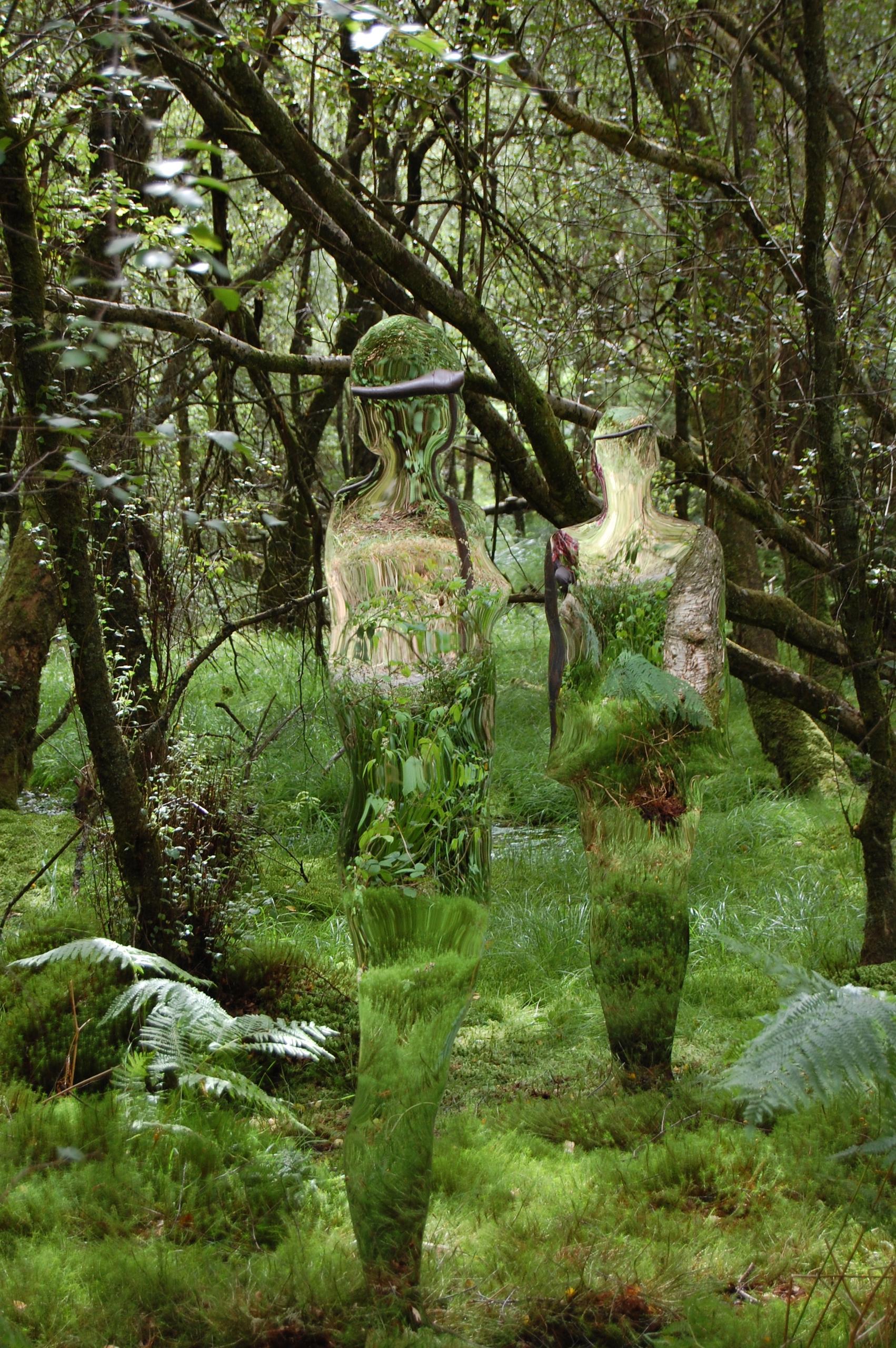 Mirror sculptures Rob Mulhollan - inag | ello