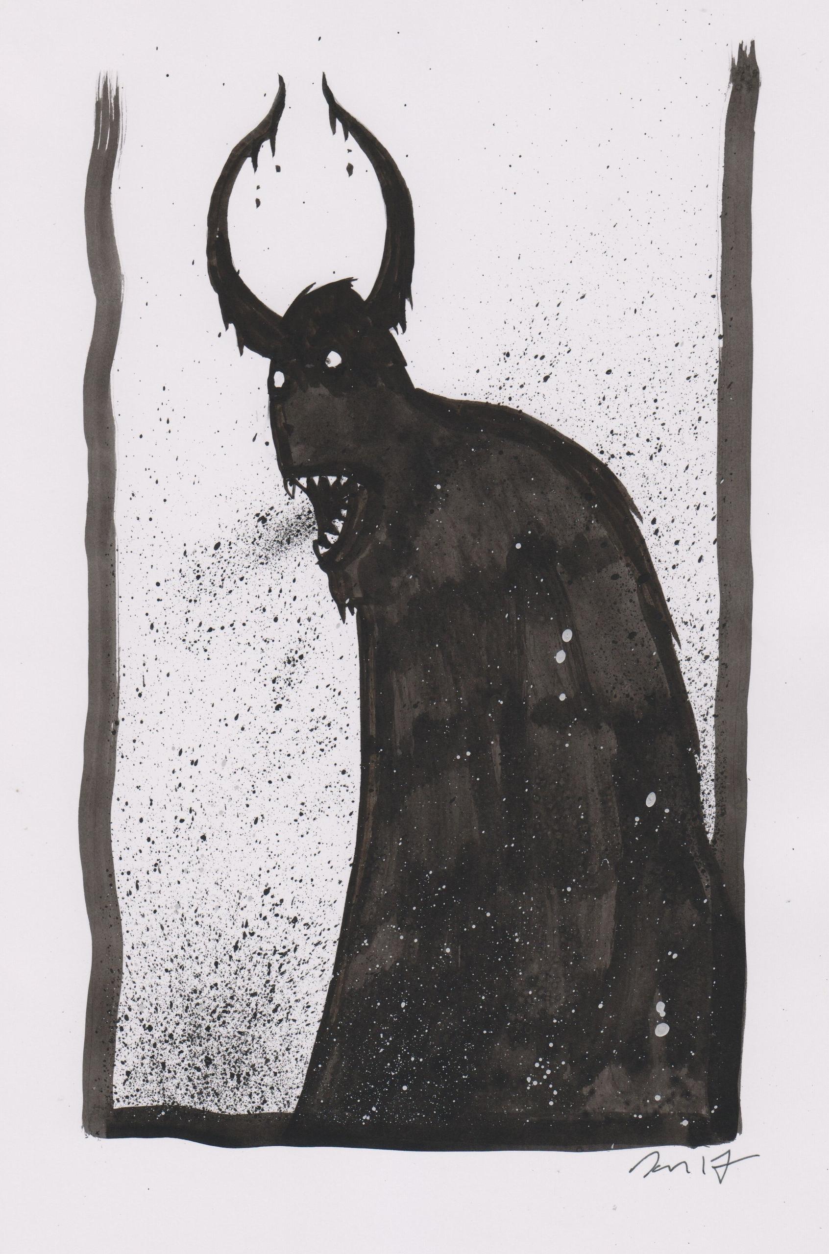 Ancient Dark 22 - illustration, instaart - dansmonsters | ello