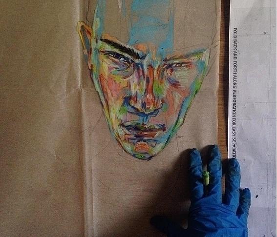 crayon, painting - likuanzhen | ello
